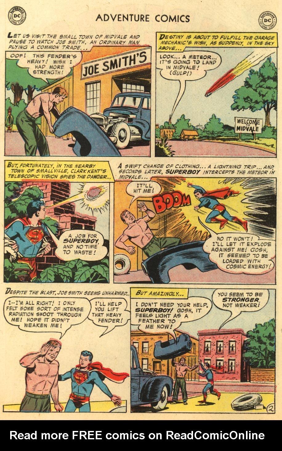 Read online Adventure Comics (1938) comic -  Issue #233 - 4