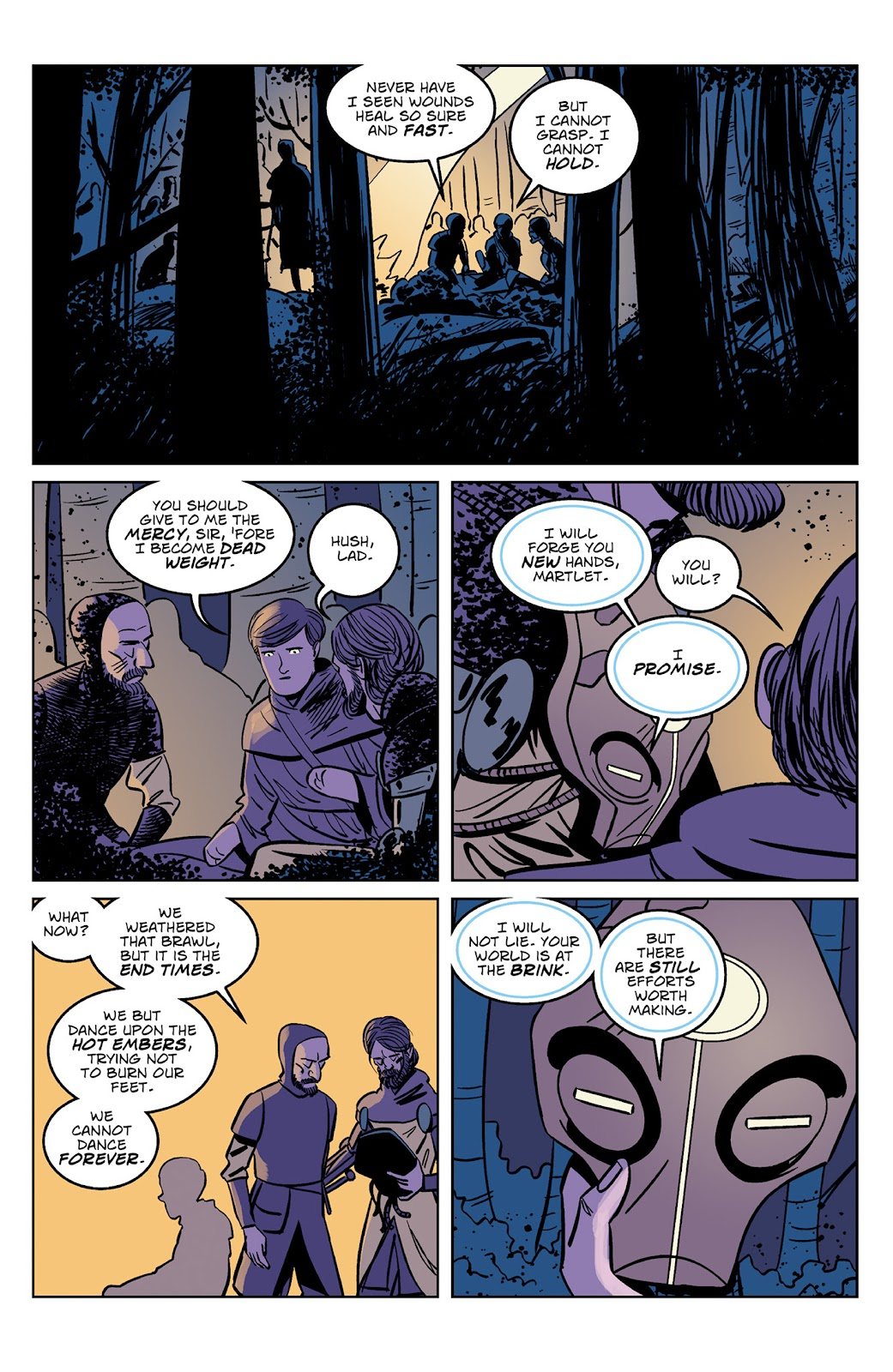 Read online Dark Ages comic -  Issue #4 - 19