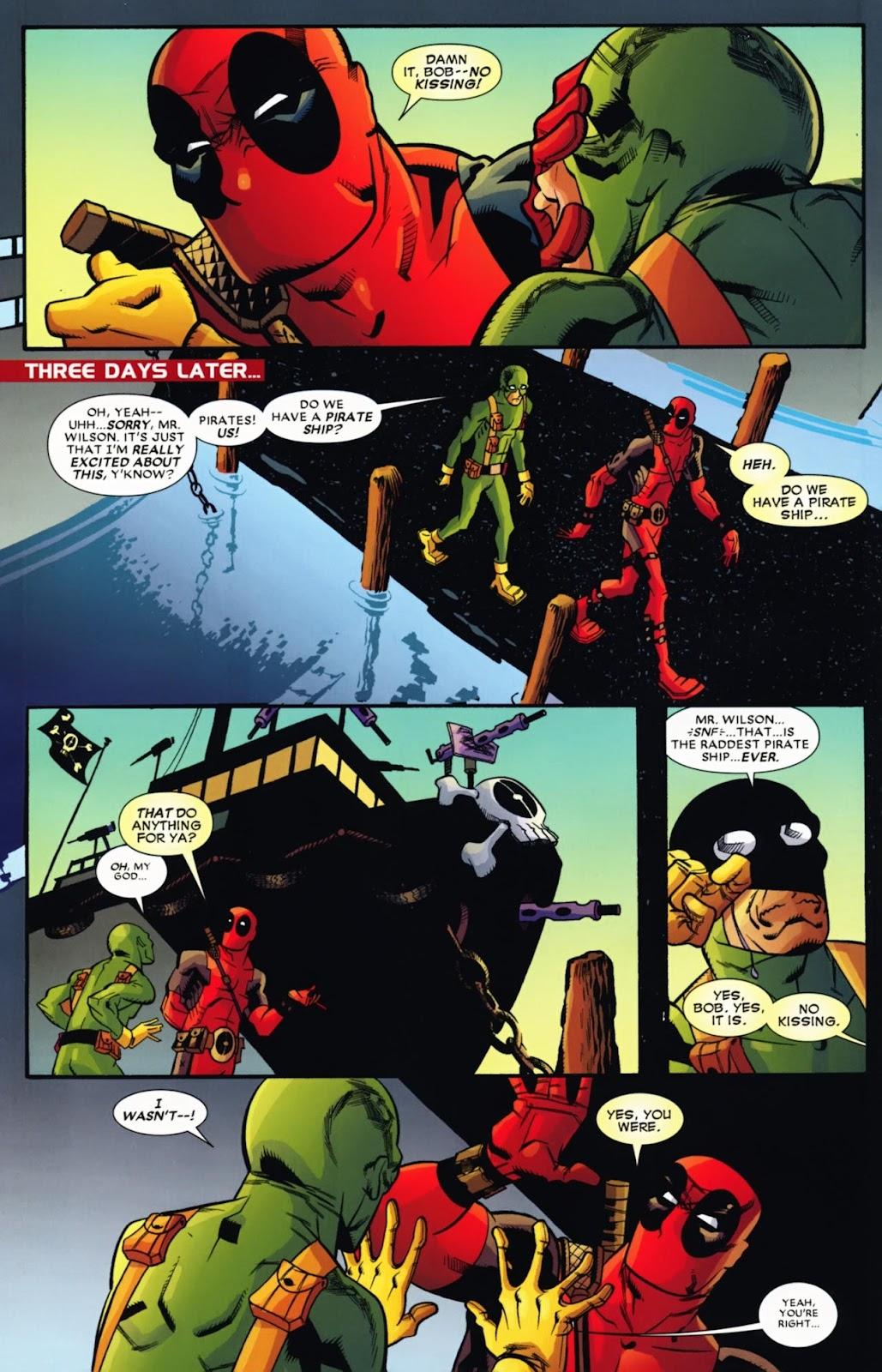 Read online Deadpool (2008) comic -  Issue #13 - 12