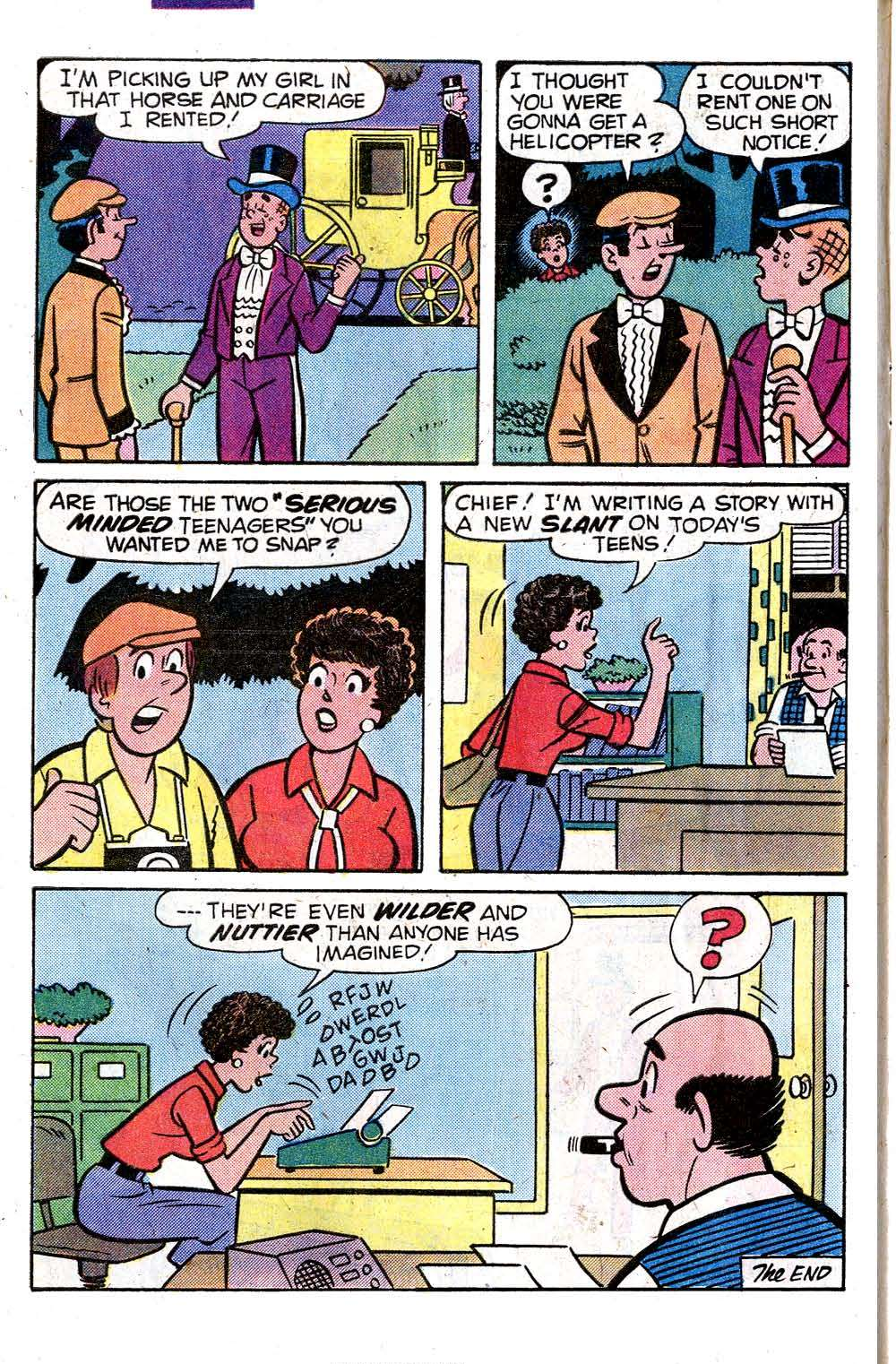 Read online Archie (1960) comic -  Issue #284 - 8