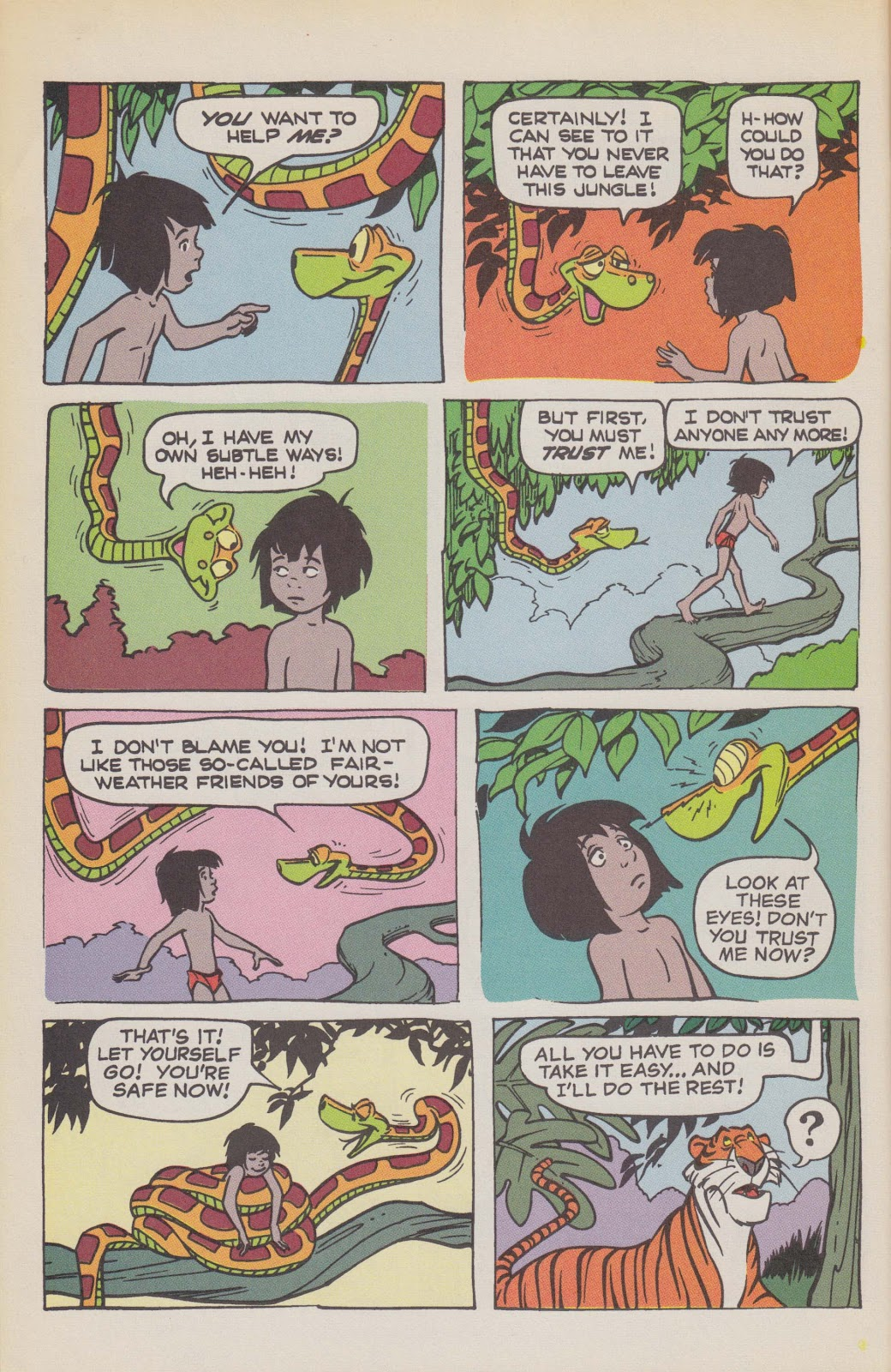 Read online The Jungle Book comic -  Issue # Full - 46