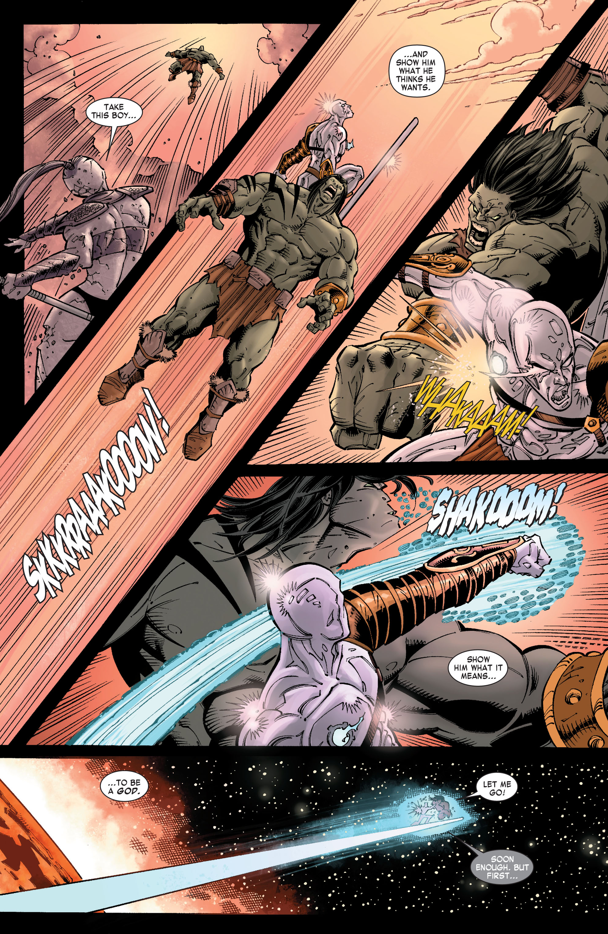 Read online Skaar: Son of Hulk comic -  Issue #9 - 22