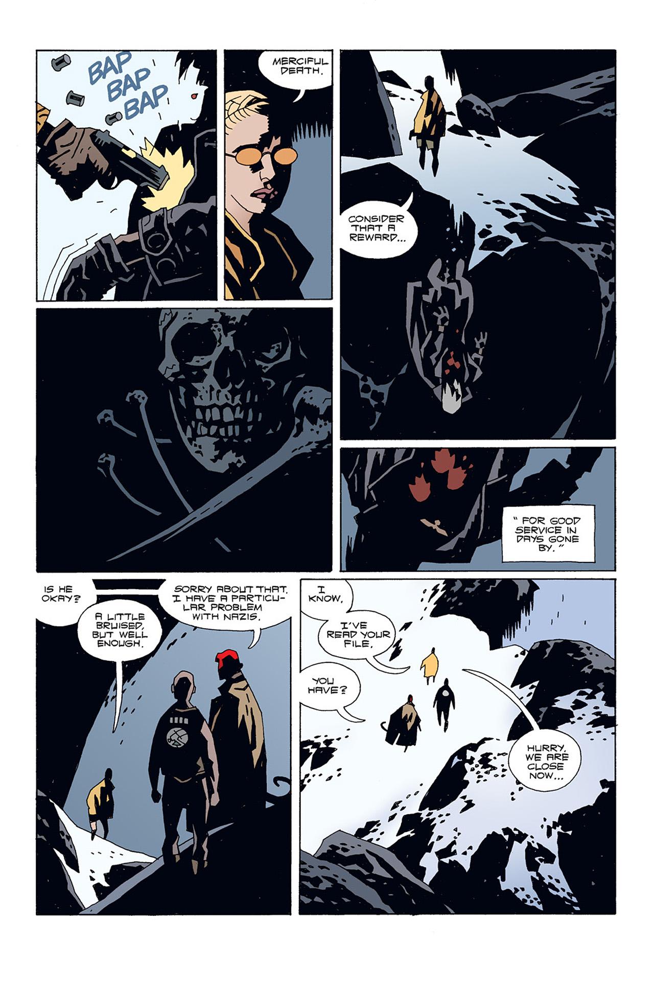 Read online Hellboy: Conqueror Worm comic -  Issue #1 - 22