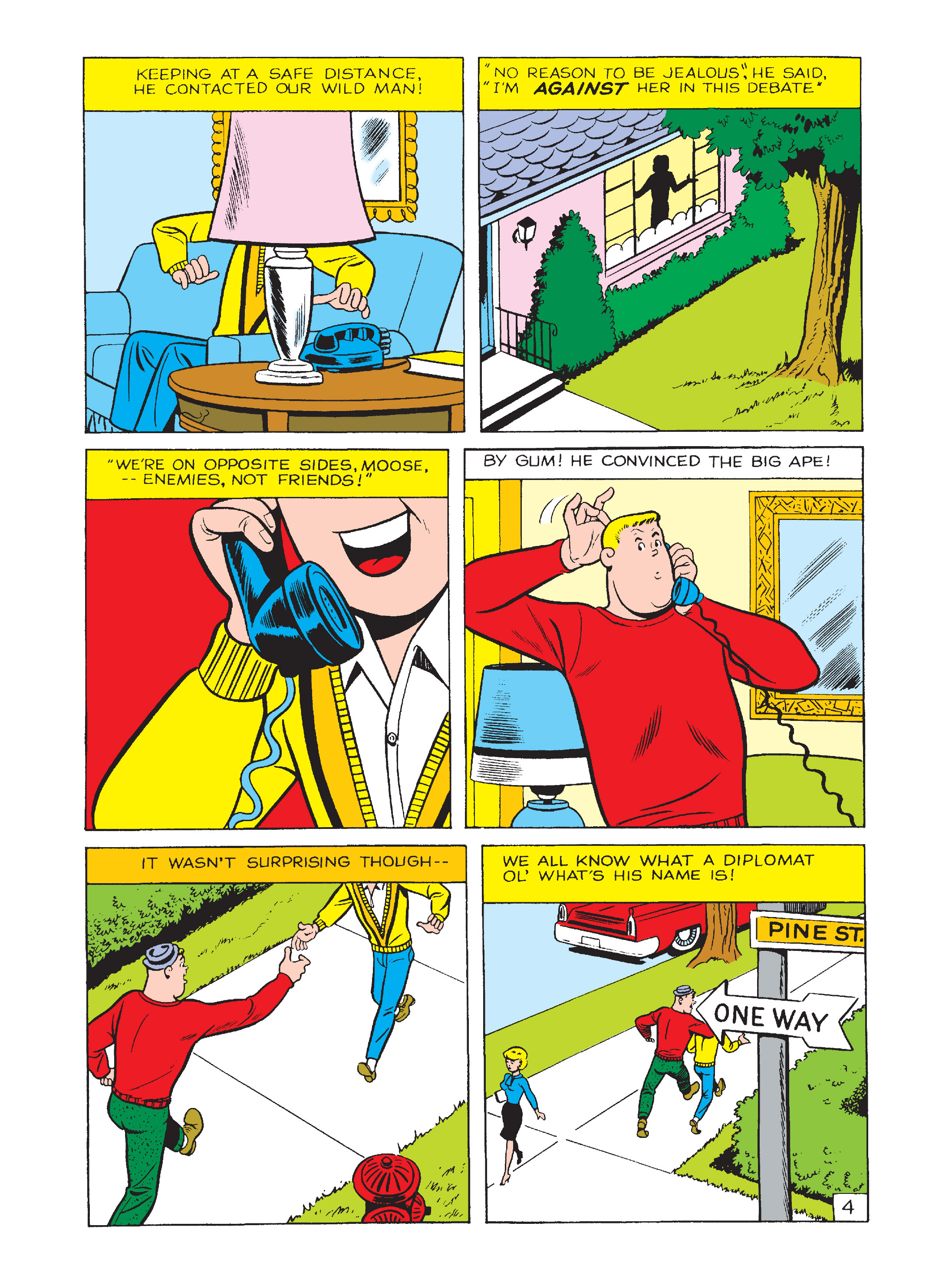 Read online Archie's Funhouse Double Digest comic -  Issue #2 - 151