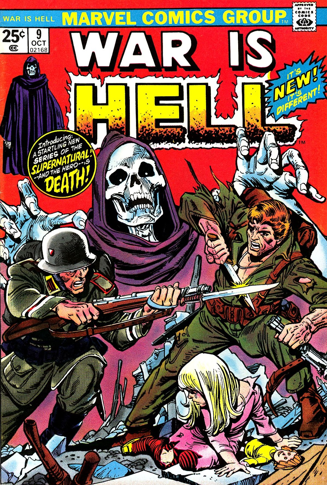 War Is Hell (1973) issue 9 - Page 1