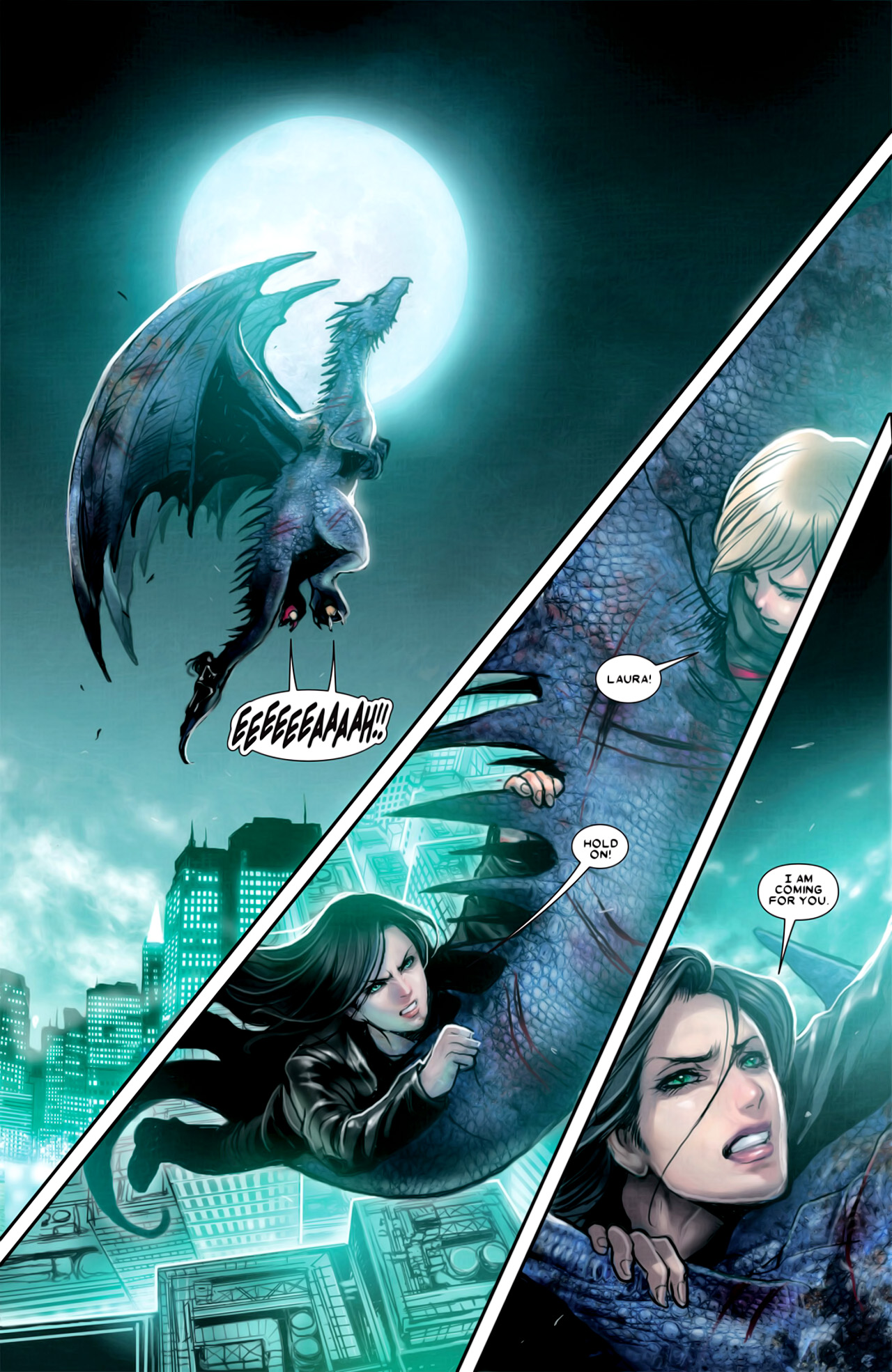 Read online X-23 (2010) comic -  Issue #18 - 3