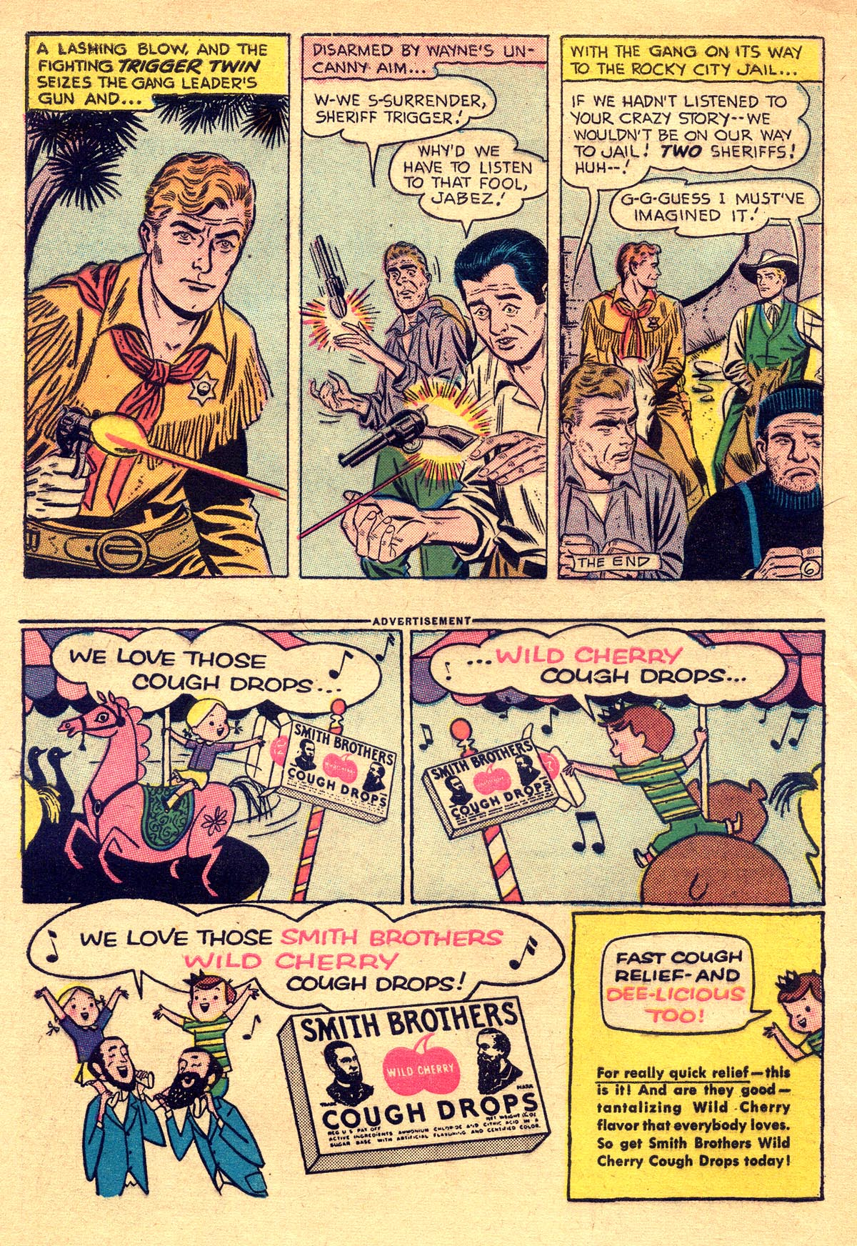 Read online All-Star Western (1951) comic -  Issue #93 - 8