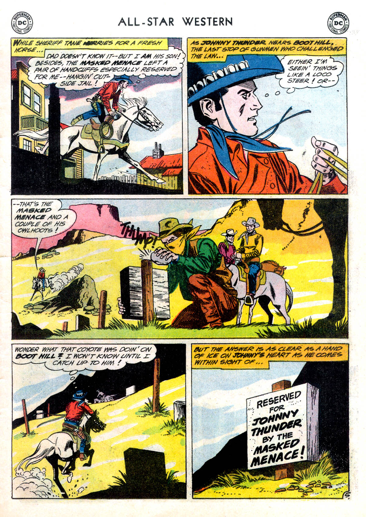 Read online All-Star Western (1951) comic -  Issue #116 - 7
