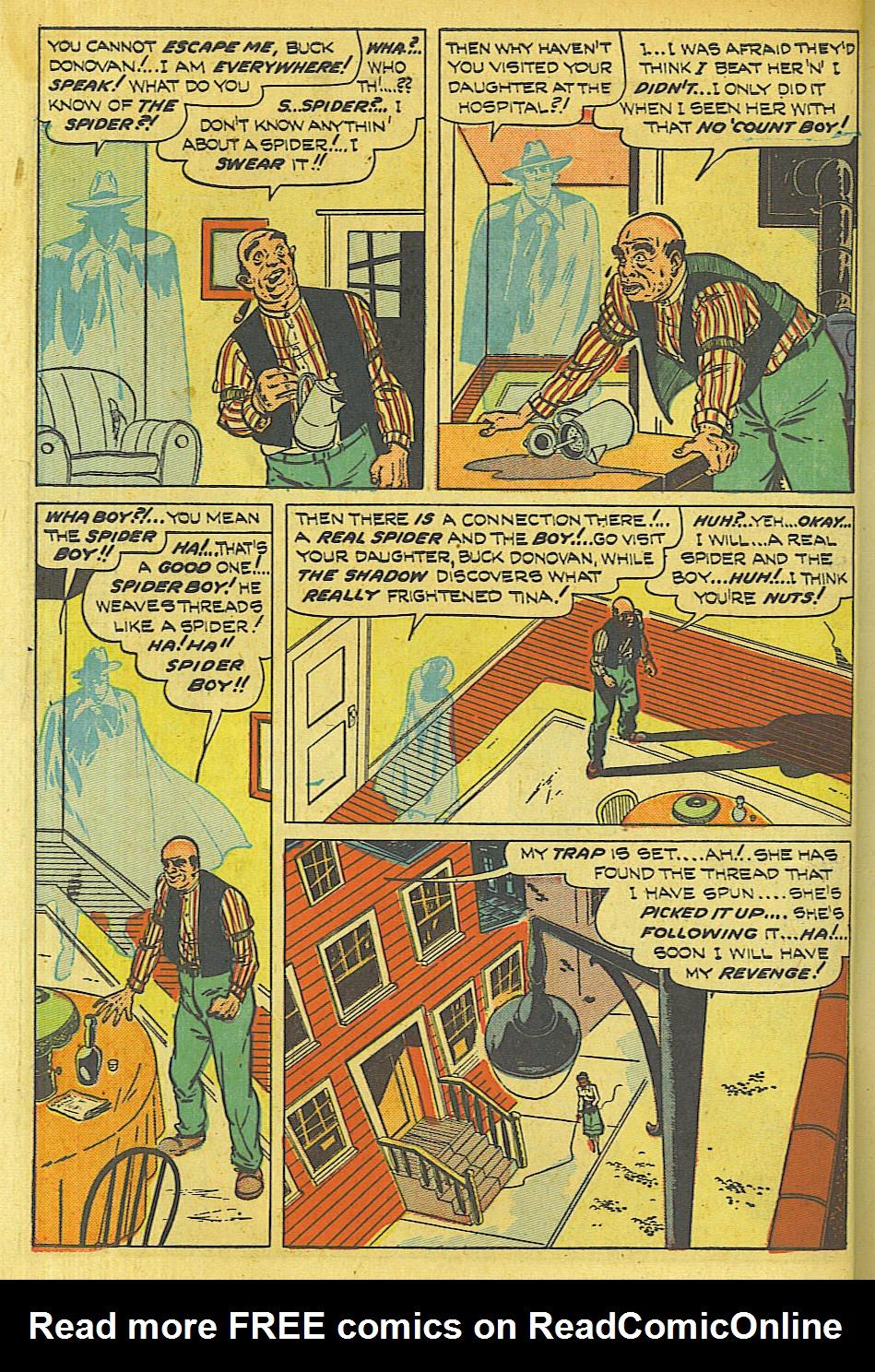 Read online Shadow Comics comic -  Issue #87 - 11