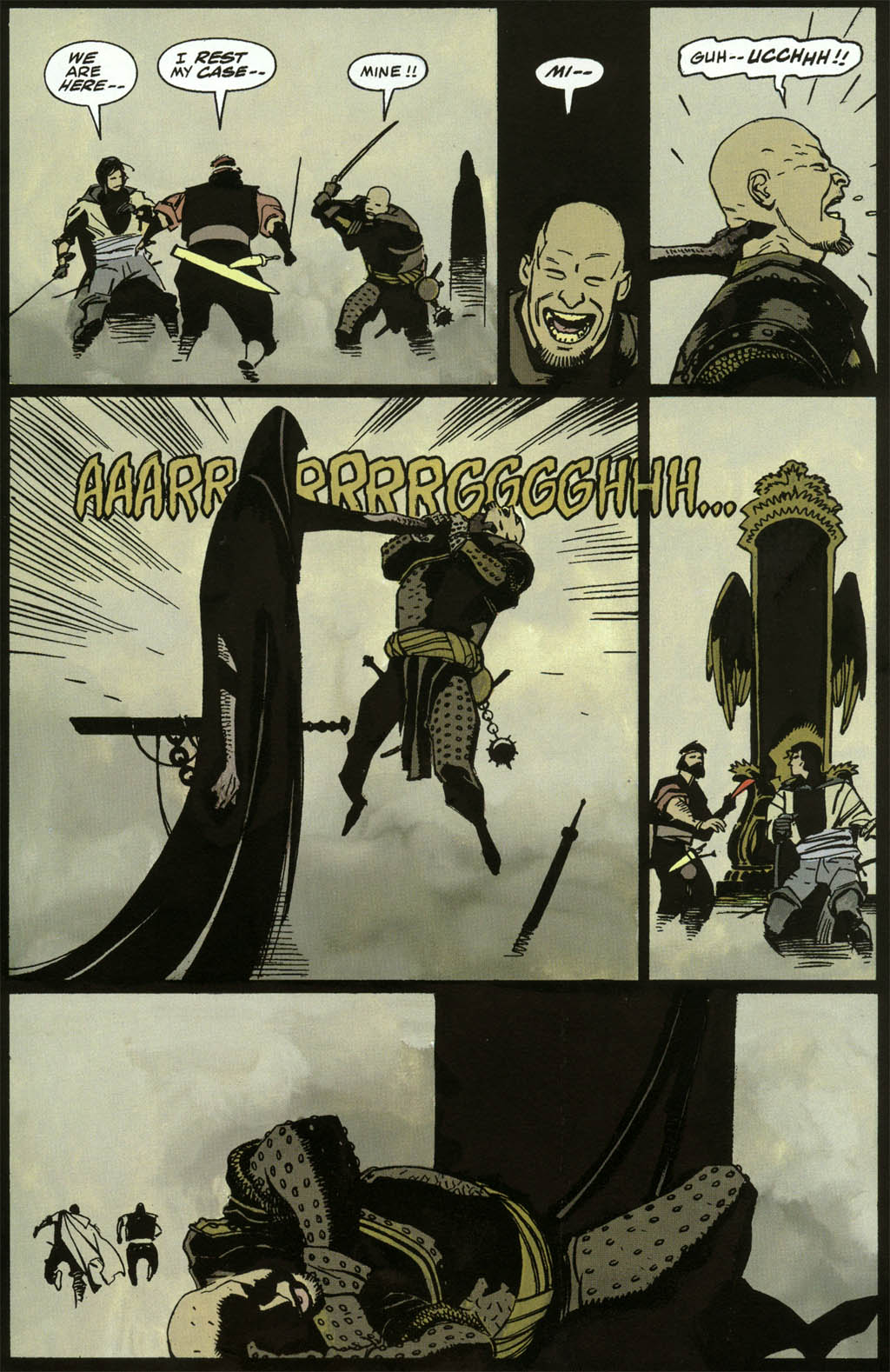 Read online Fafhrd and the Gray Mouser comic -  Issue #3 - 19