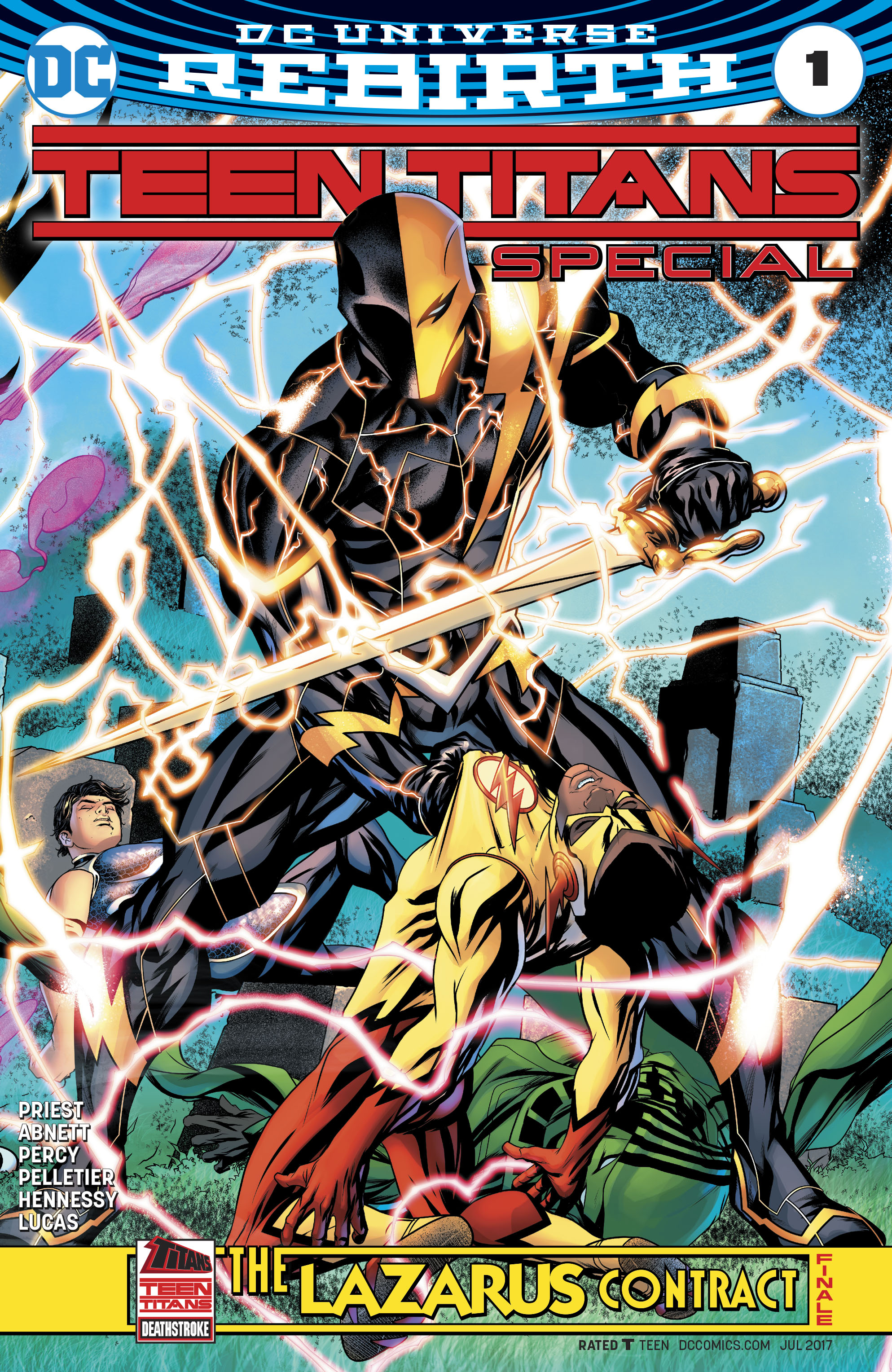 Read online Teen Titans (2016) comic -  Issue # Annual 1 - The Lazarus Contract Special 1 - 1