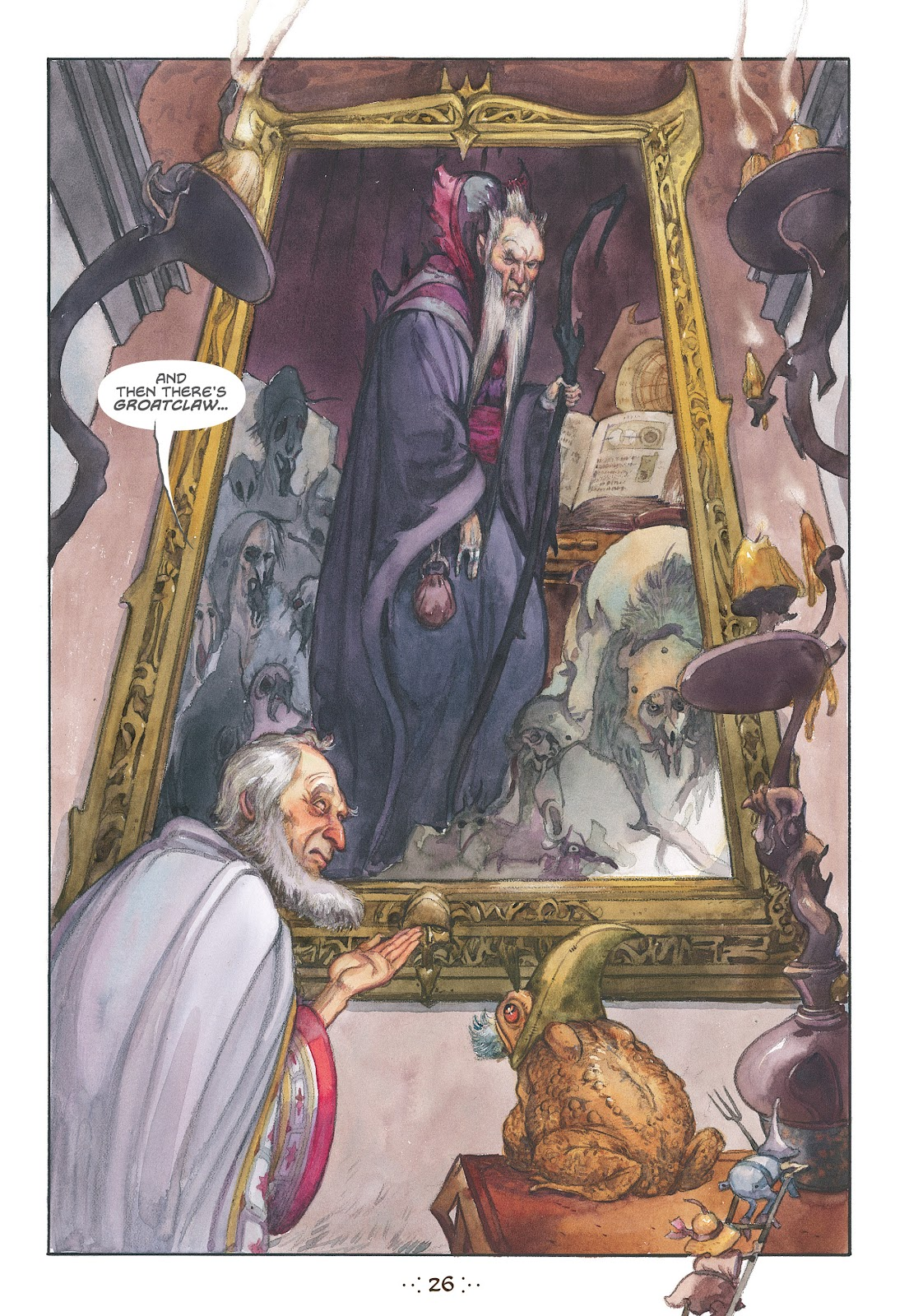 Read online The Wizard's Tale comic -  Issue # TPB - 24