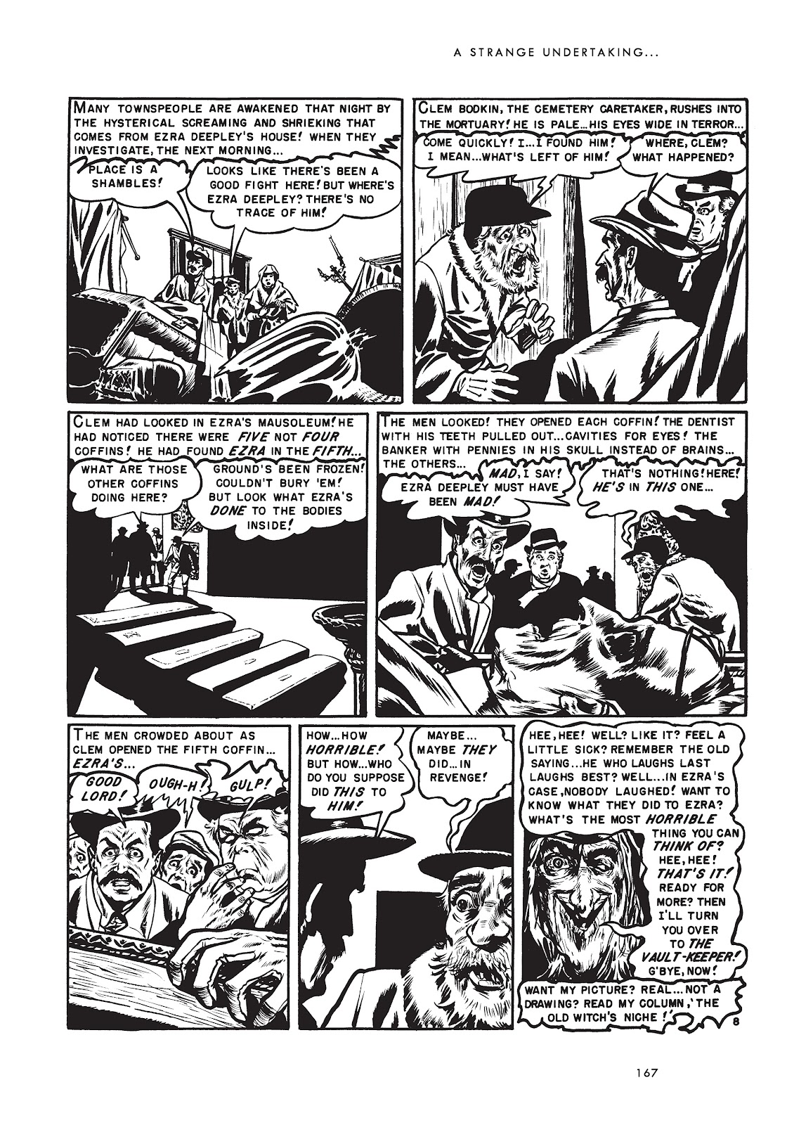 Read online Doctor of Horror and Other Stories comic -  Issue # TPB (Part 2) - 83