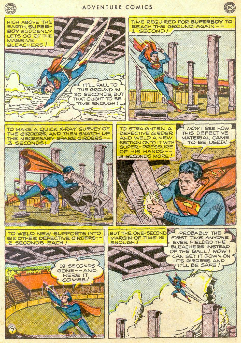 Read online Adventure Comics (1938) comic -  Issue #161 - 9