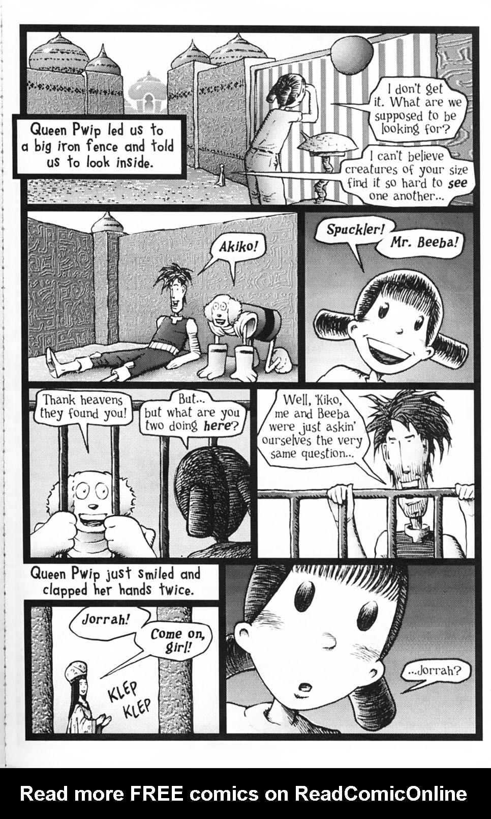 Read online Akiko comic -  Issue #Akiko _TPB 1 - 152