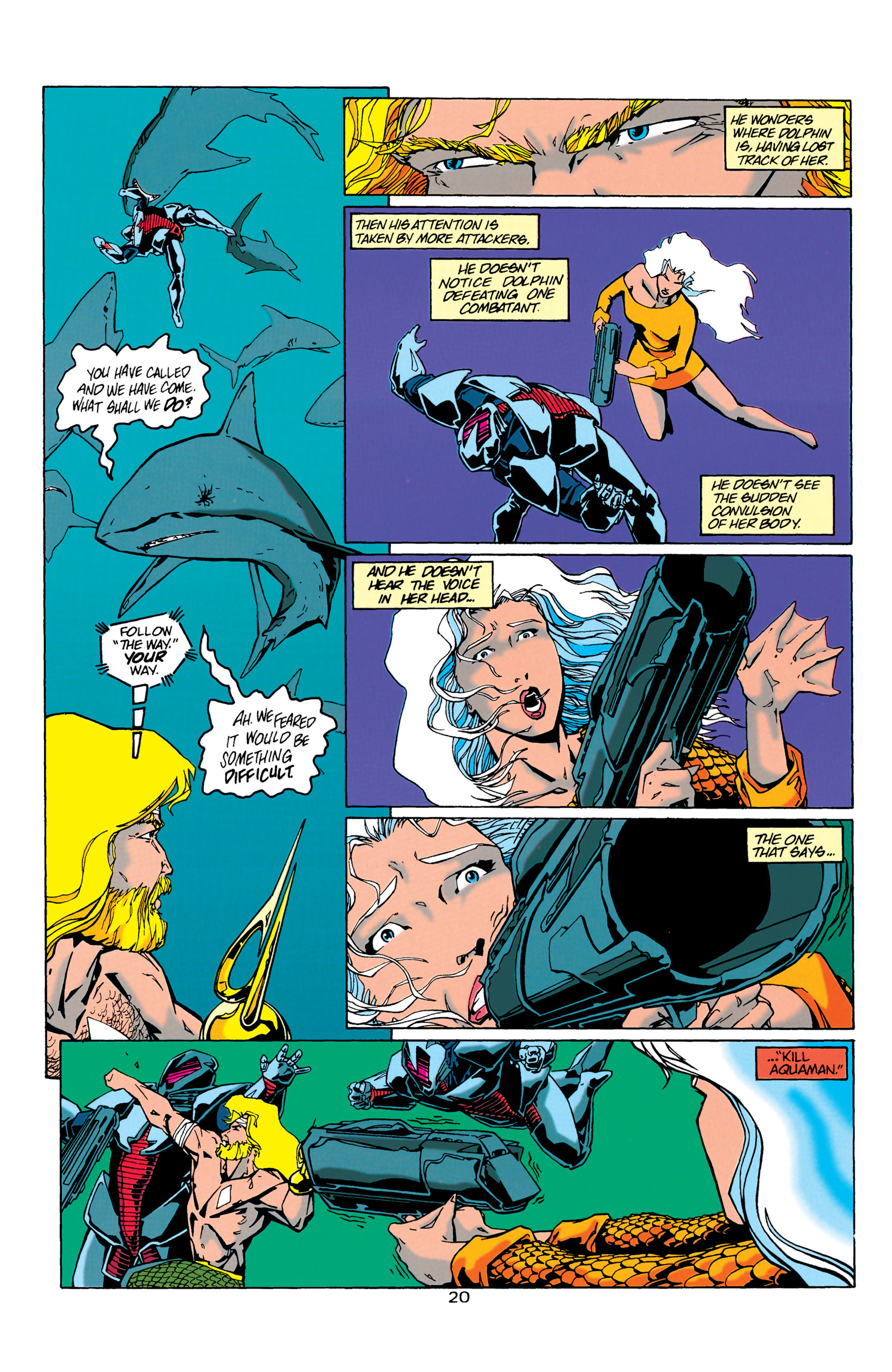 Read online Aquaman (1994) comic -  Issue #21 - 20