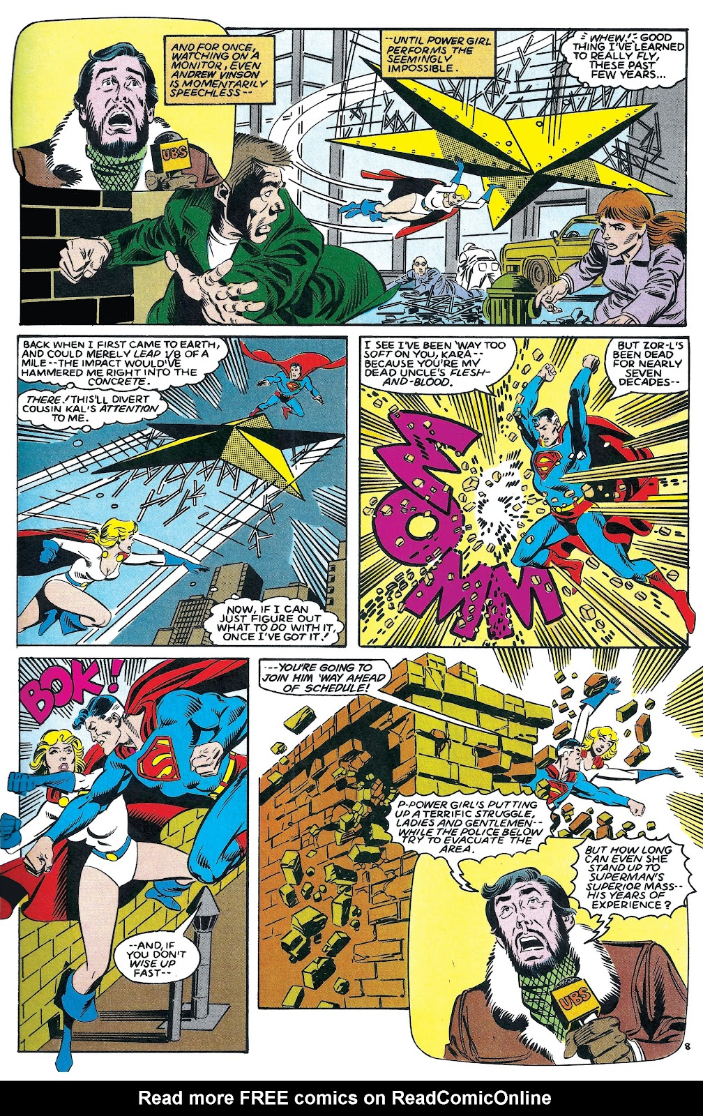 Infinity Inc. (1984) issue 7 - Page 8