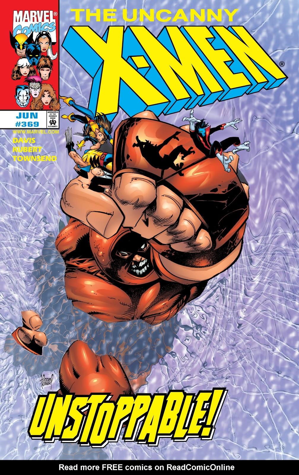 Uncanny X-Men (1963) issue 369 - Page 1