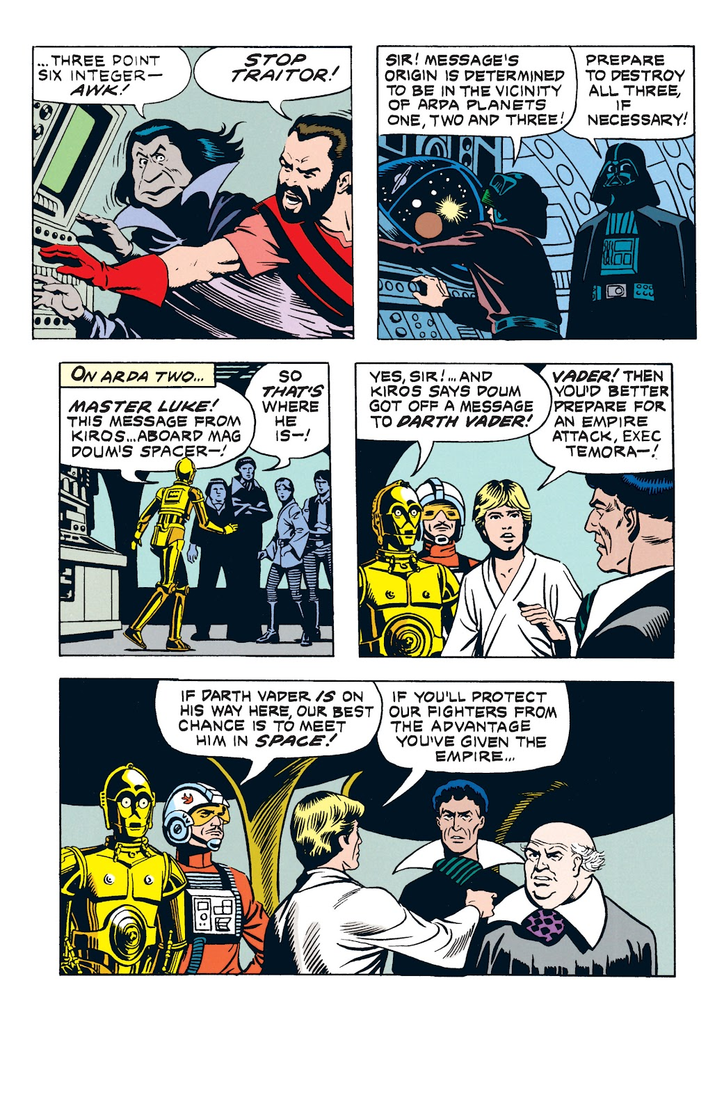 Read online Star Wars Legends: The Newspaper Strips - Epic Collection comic -  Issue # TPB (Part 3) - 48