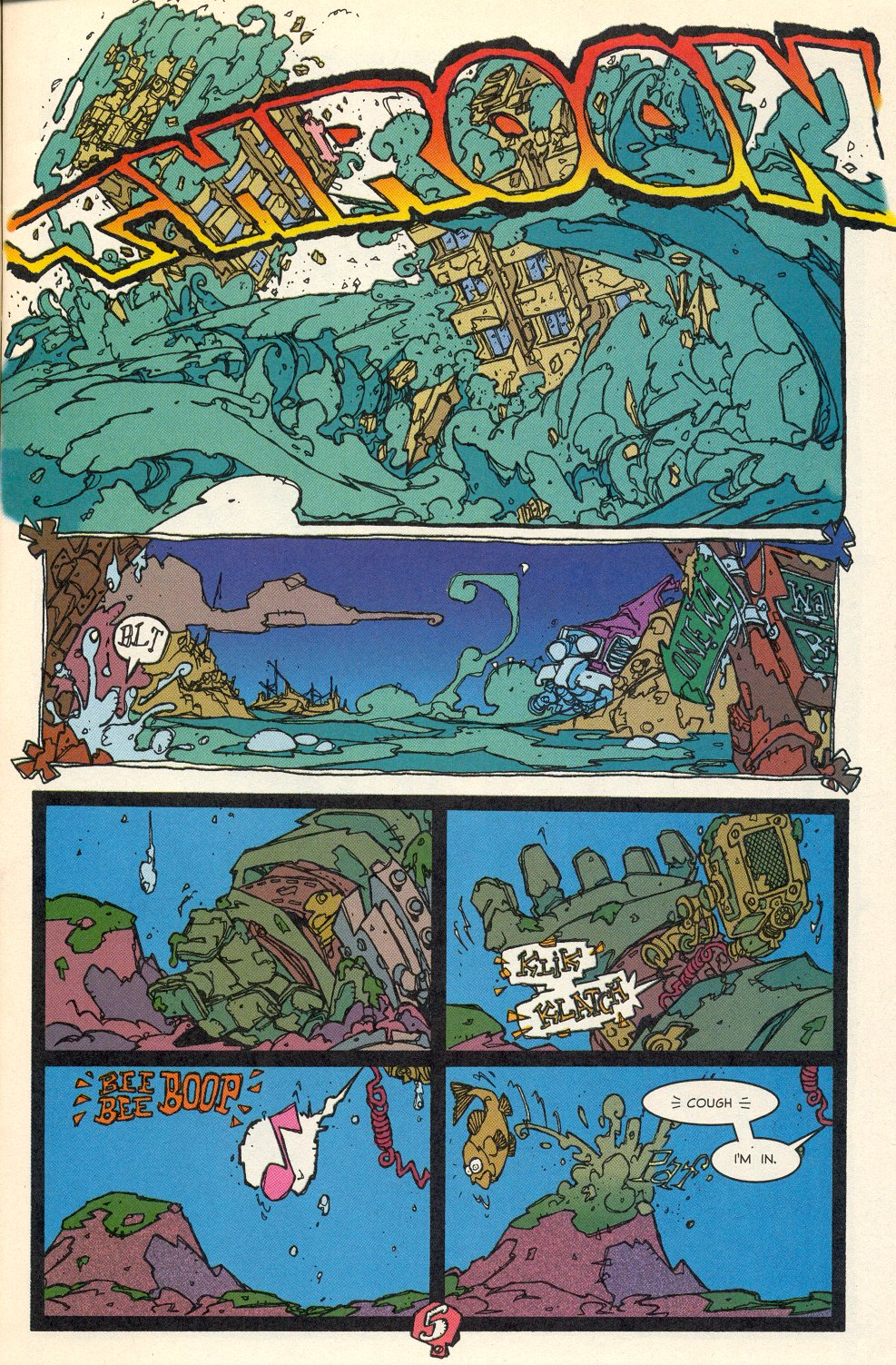 Read online Trencher comic -  Issue #1 - 7