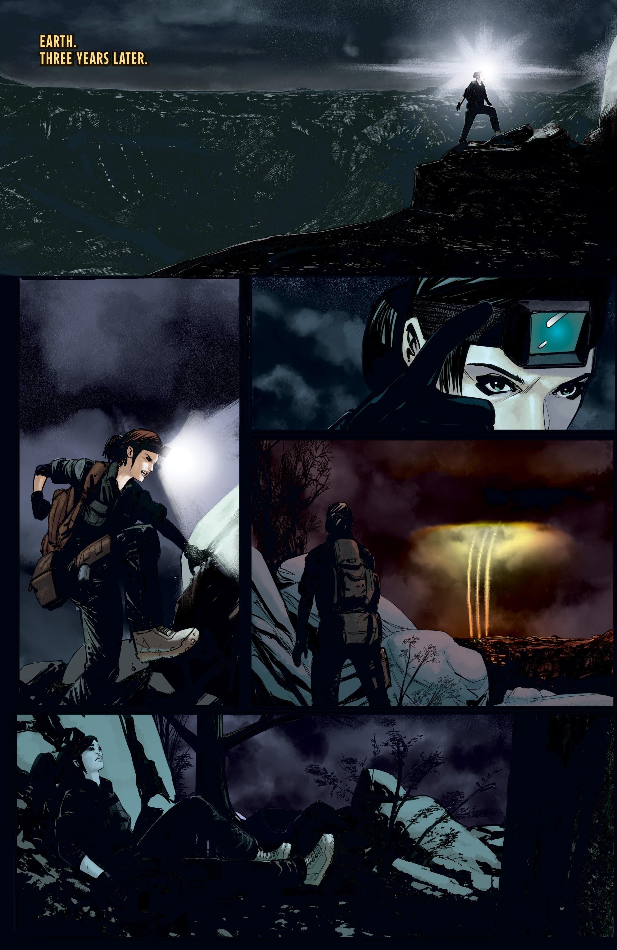 Read online Aliens: Resistance comic -  Issue # _TPB - 9