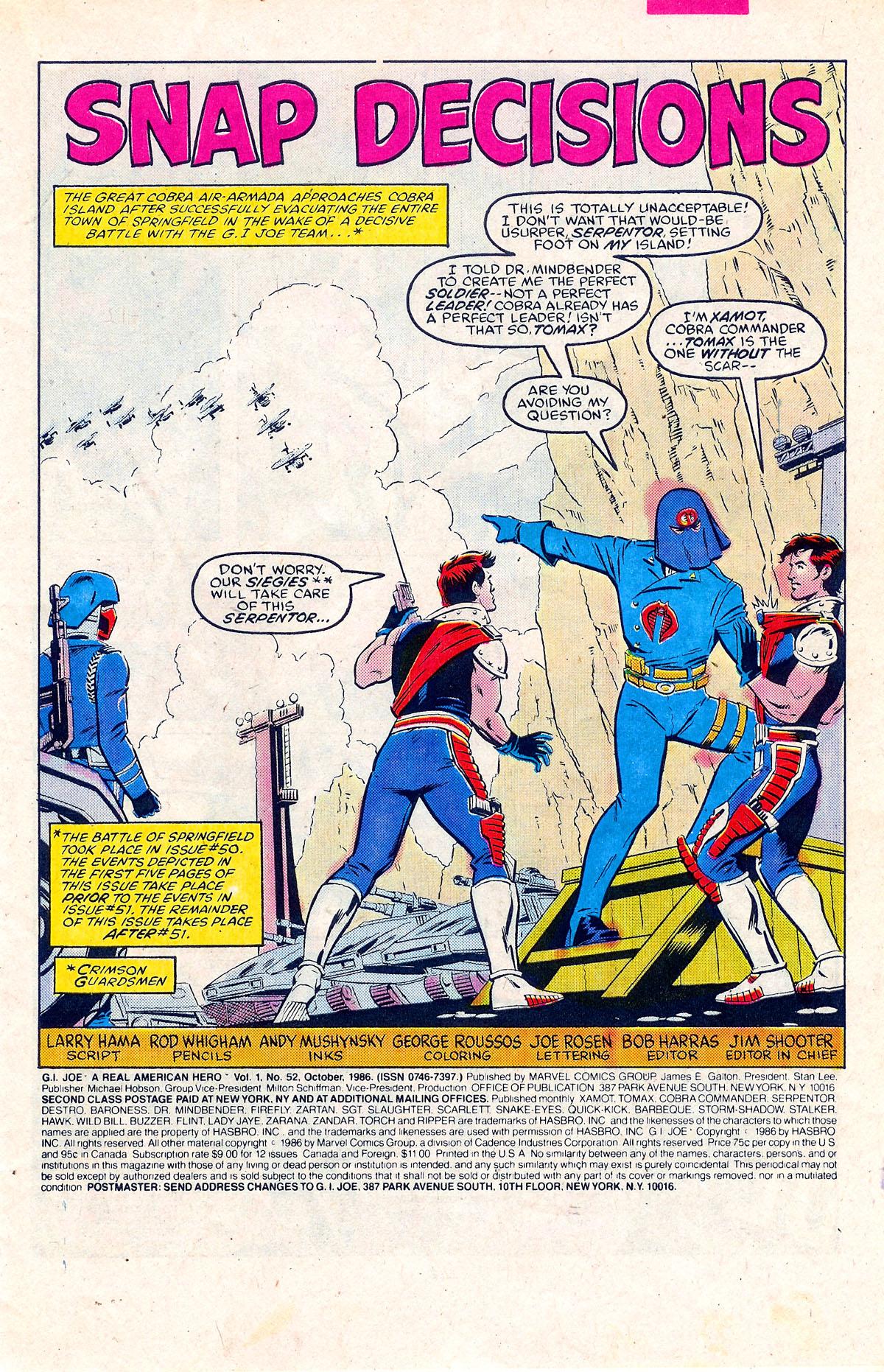 G.I. Joe: A Real American Hero 52 Page 2