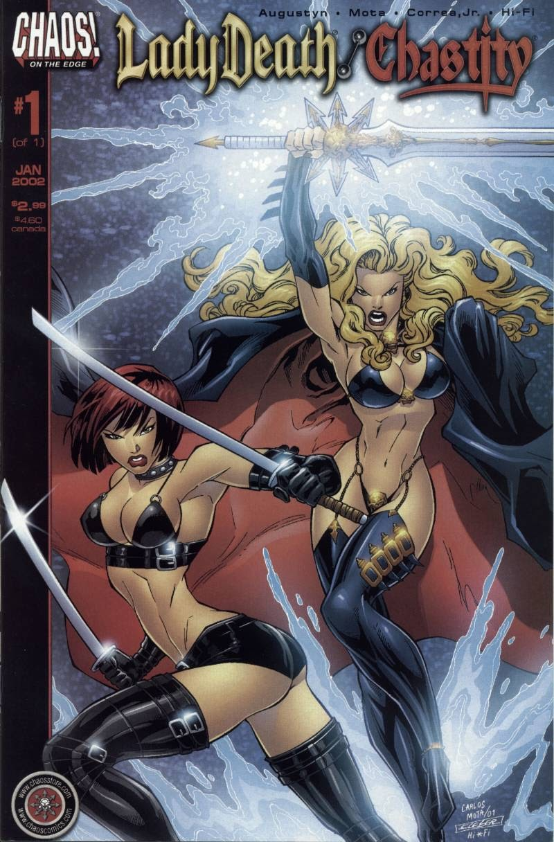 Lady Death/Chastity Full Page 1