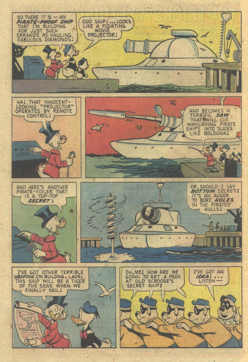 Read online Uncle Scrooge (1953) comic -  Issue #133 - 8