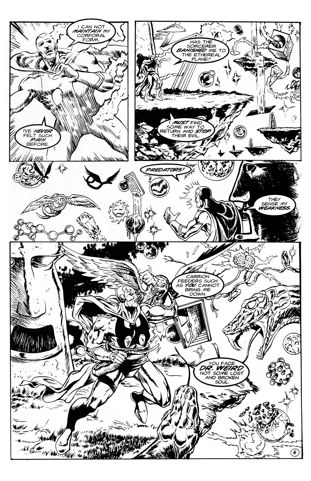 Read online Dr. Weird (1994) comic -  Issue #1 - 8