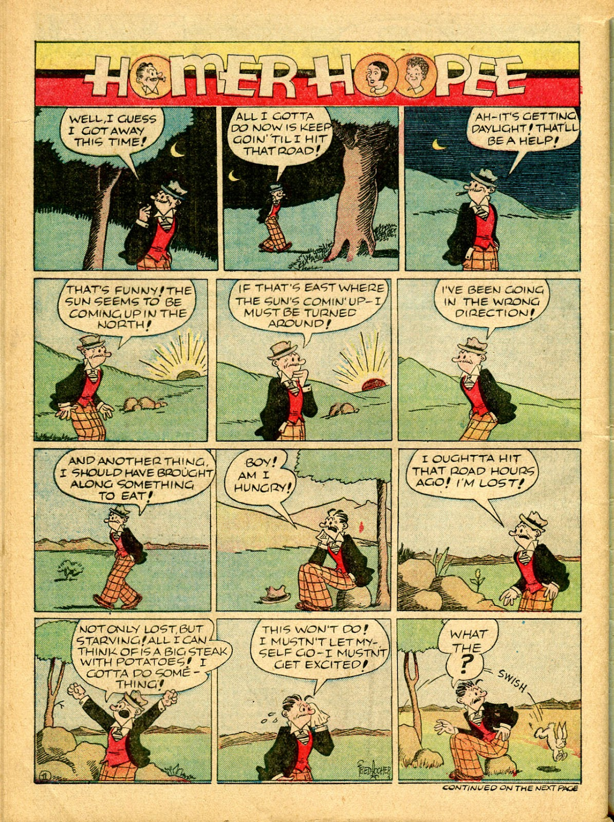 Read online Famous Funnies comic -  Issue #54 - 62