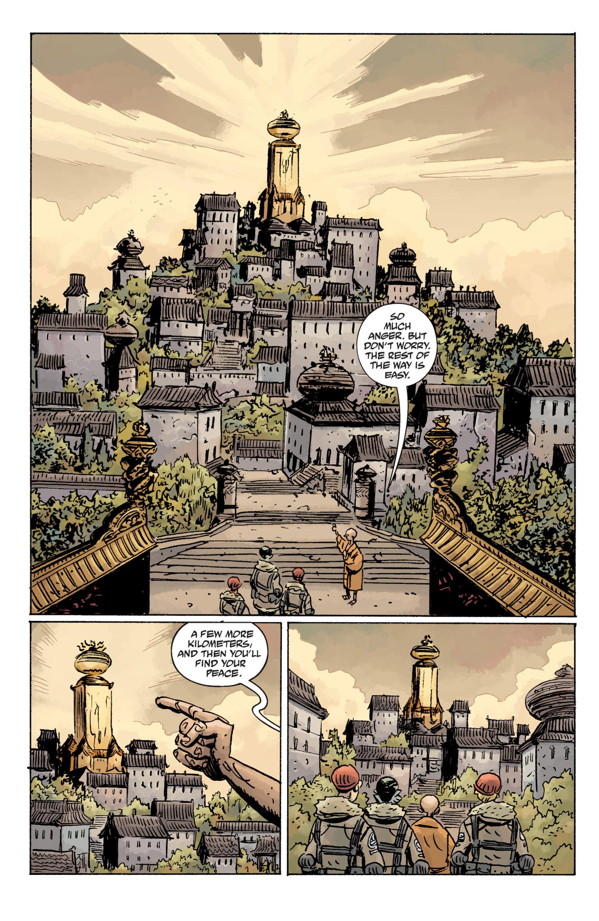Read online B.P.R.D. (2003) comic -  Issue # TPB 11 - 42