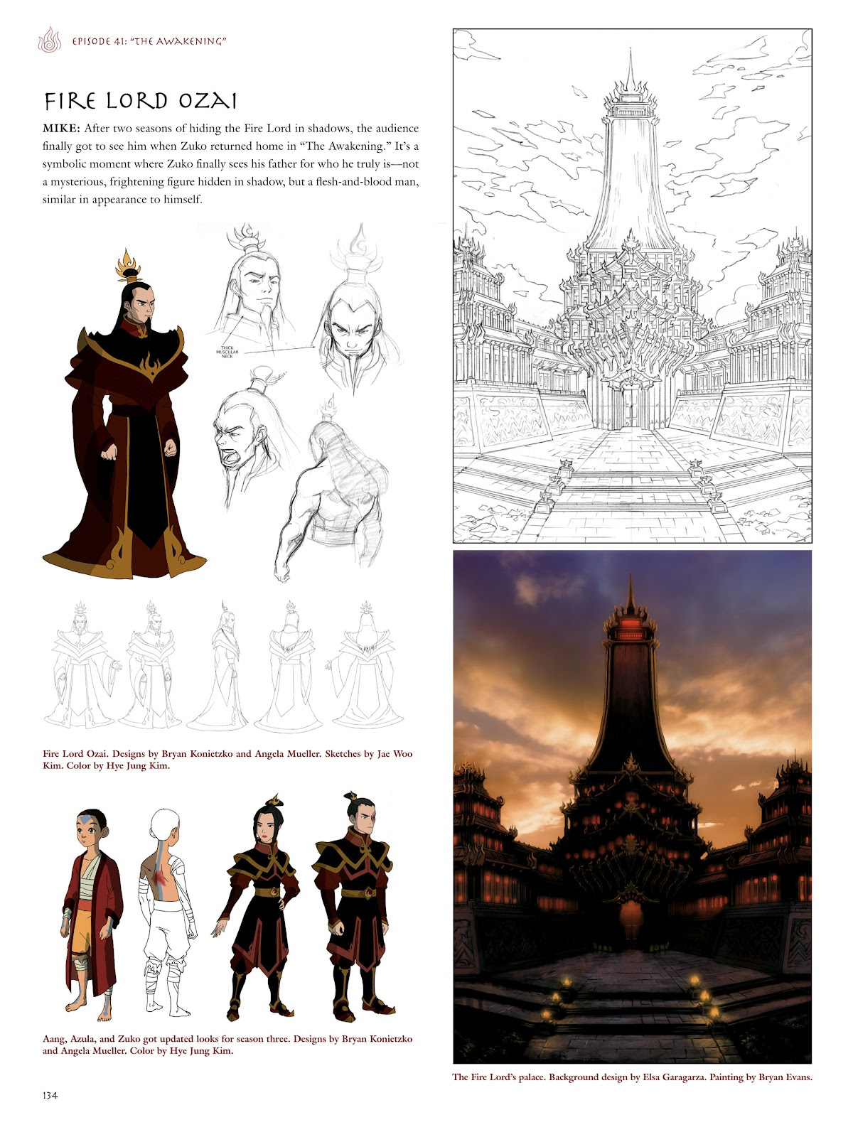 Read online Avatar: The Last Airbender - The Art of the Animated Series comic -  Issue # TPB (Part 2) - 31