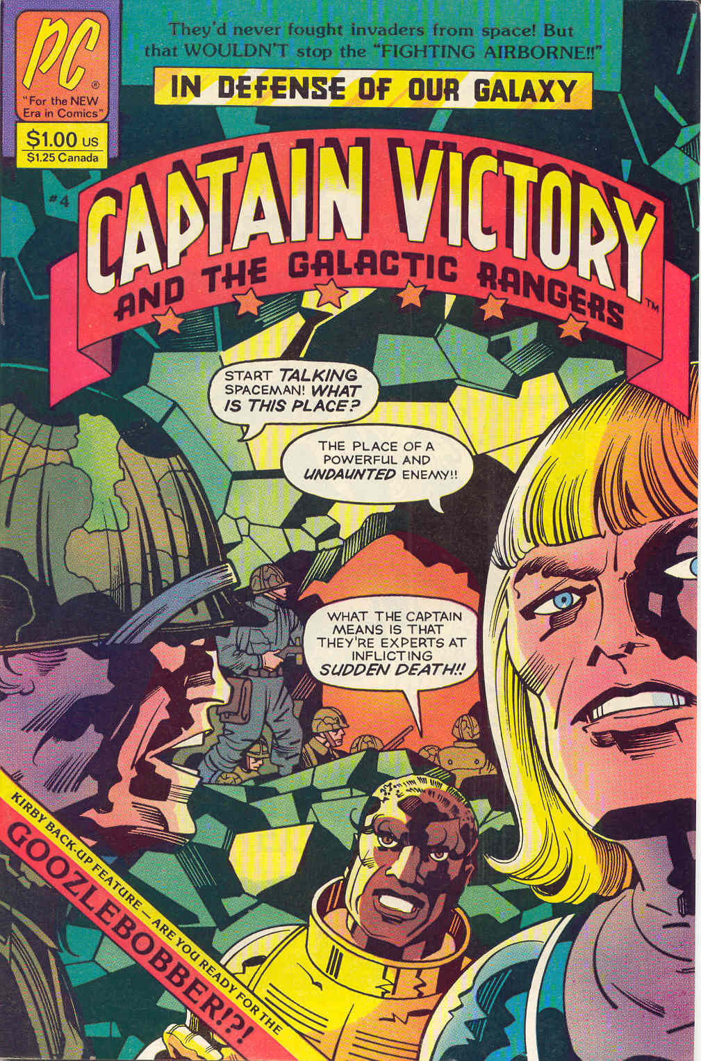 Captain Victory and the Galactic Rangers (1981) 4 Page 1