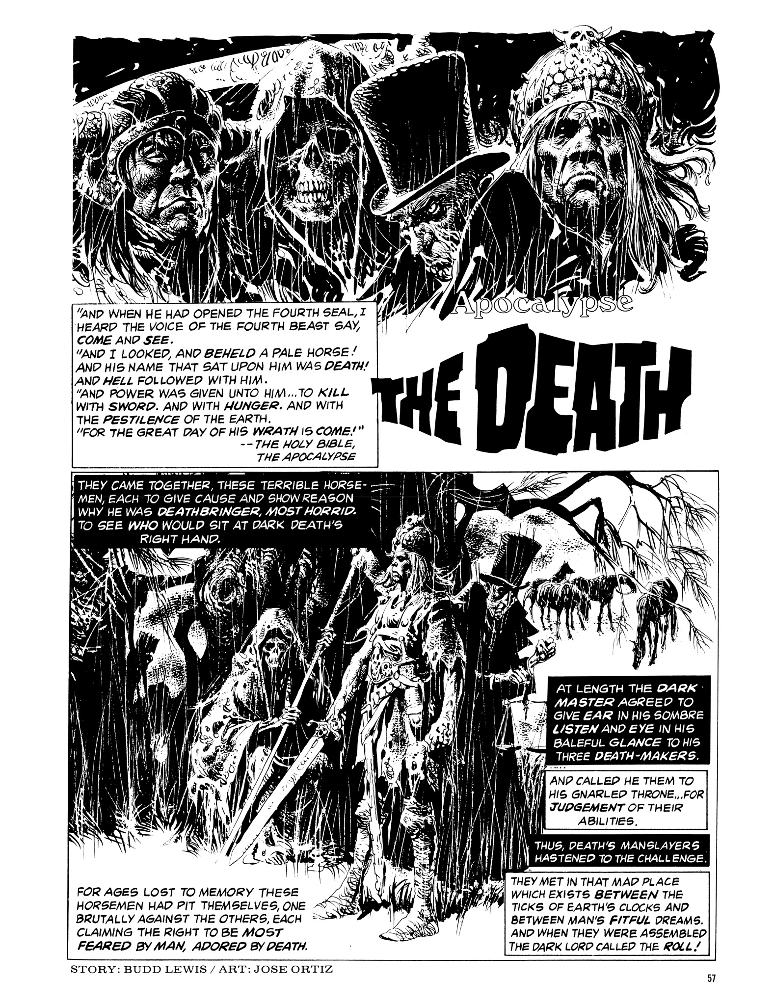 Read online Eerie Archives comic -  Issue # TPB 14 - 58