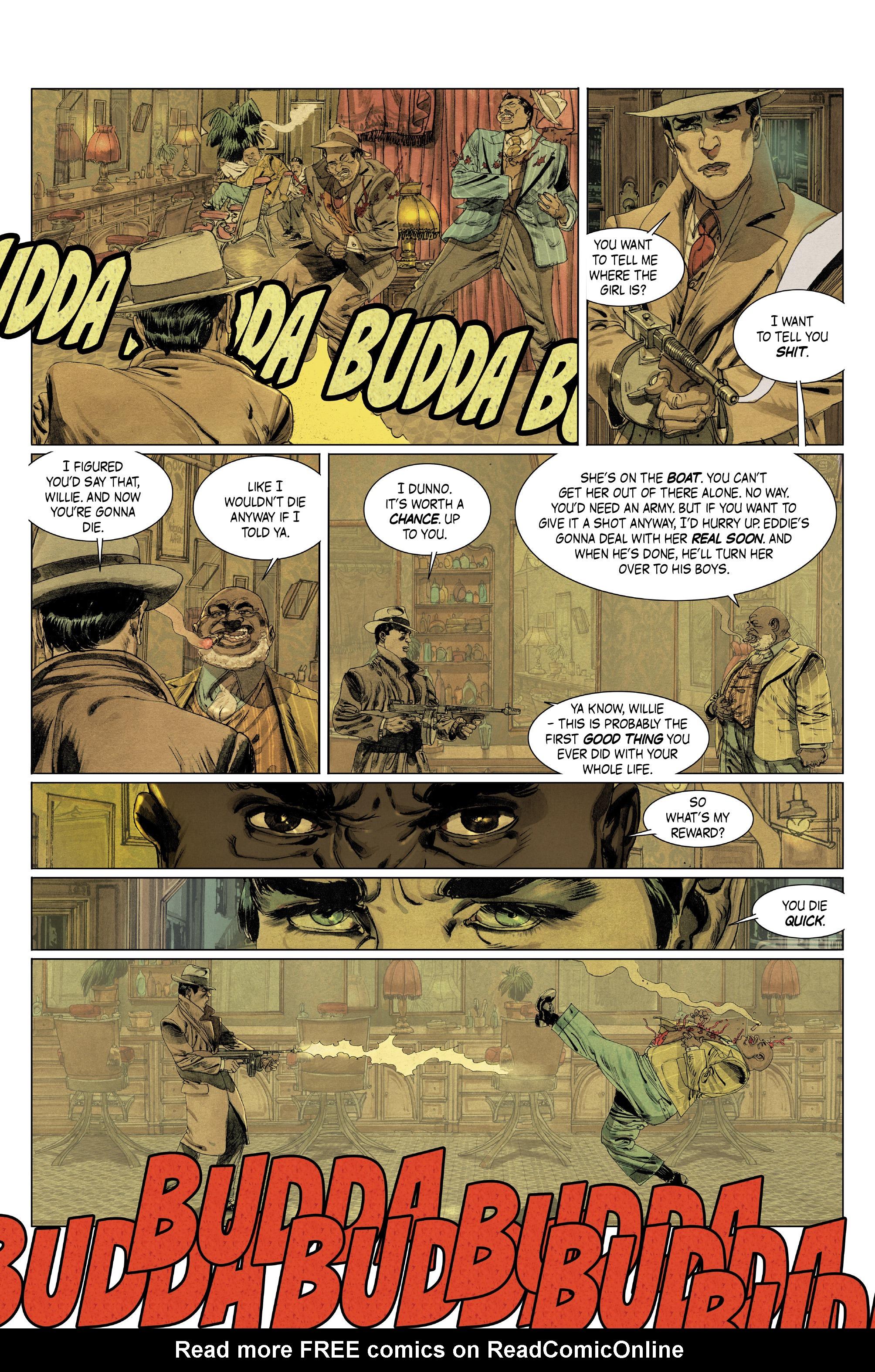 Read online Triggerman comic -  Issue #5 - 7