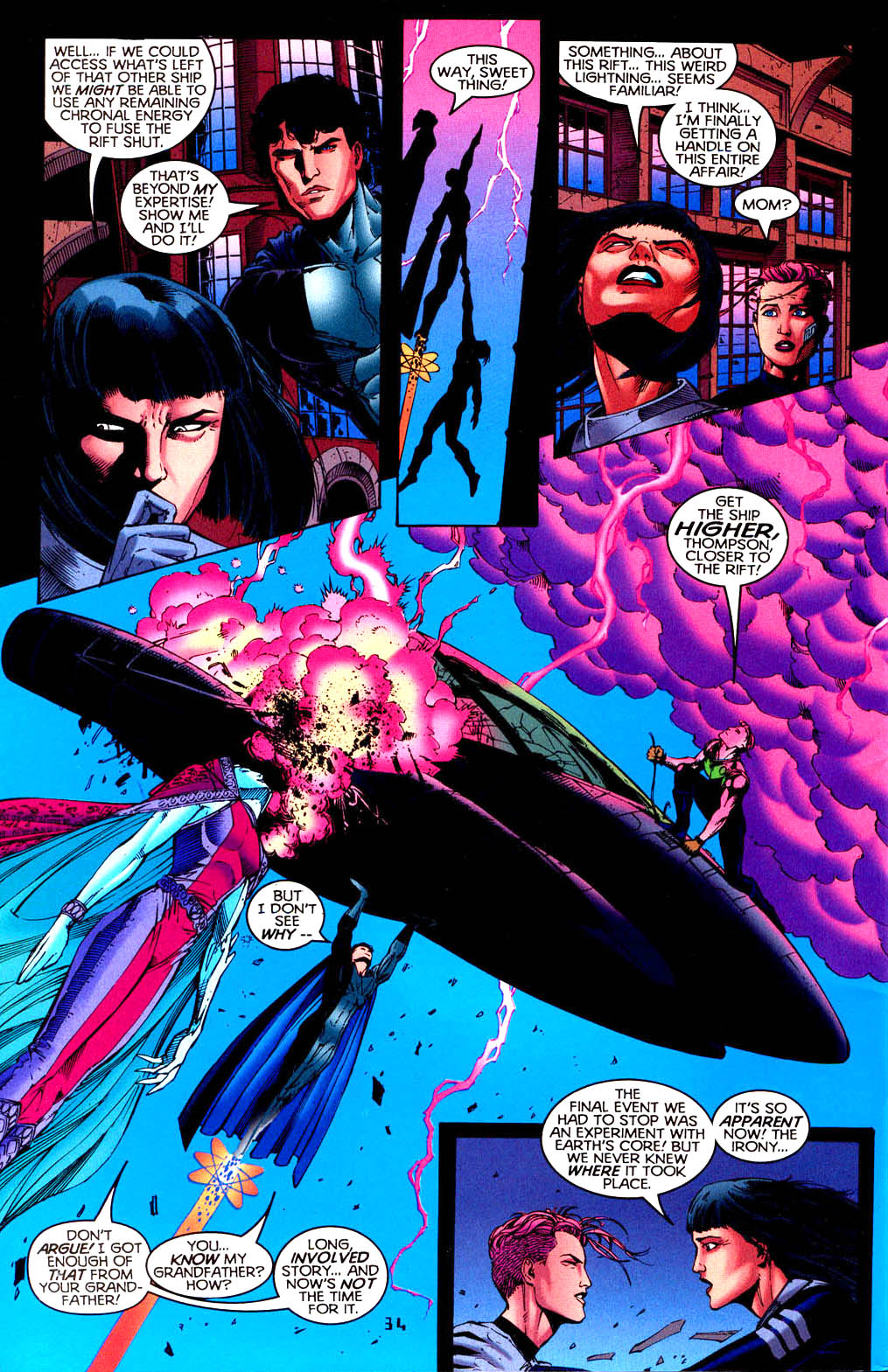 Read online Tangent Comics/ Doom Patrol comic -  Issue # Full - 35