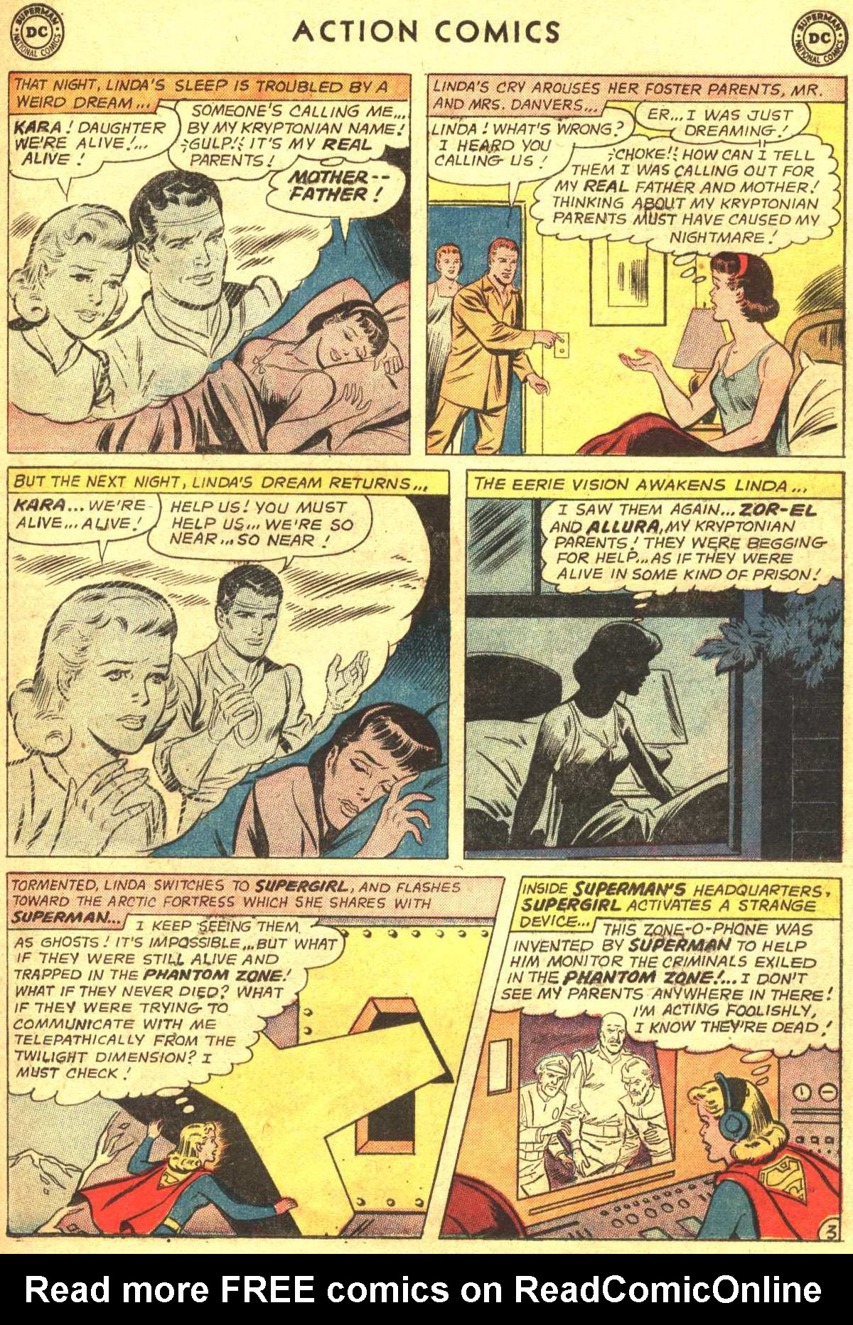 Read online Action Comics (1938) comic -  Issue #309 - 23