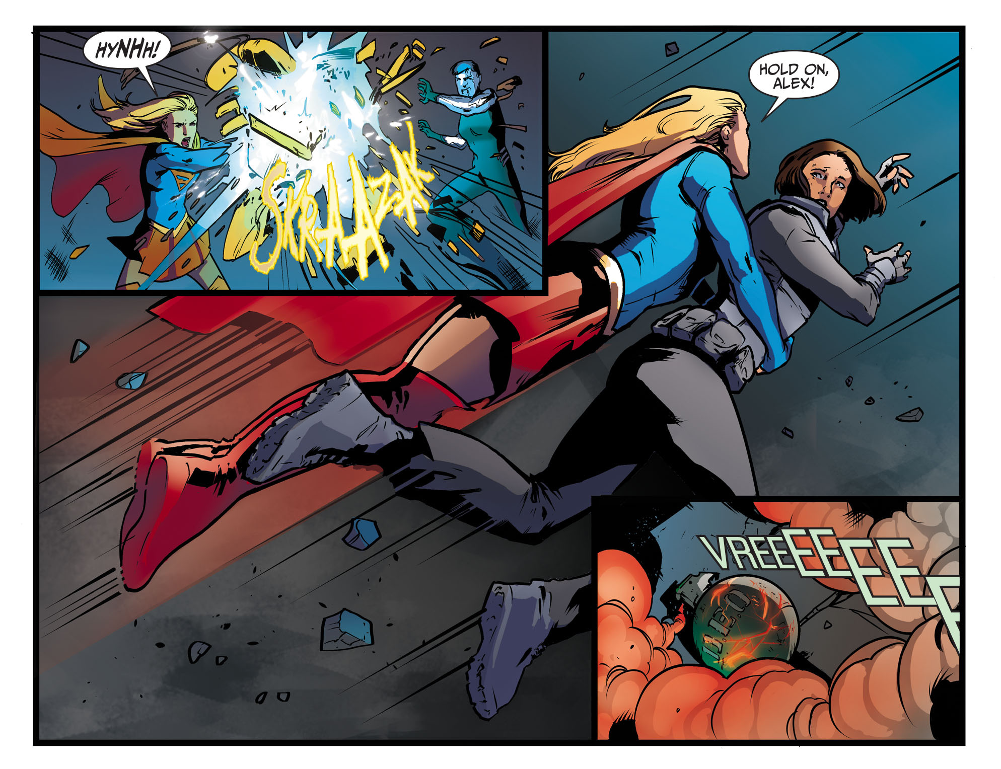 Read online Adventures of Supergirl comic -  Issue #9 - 20