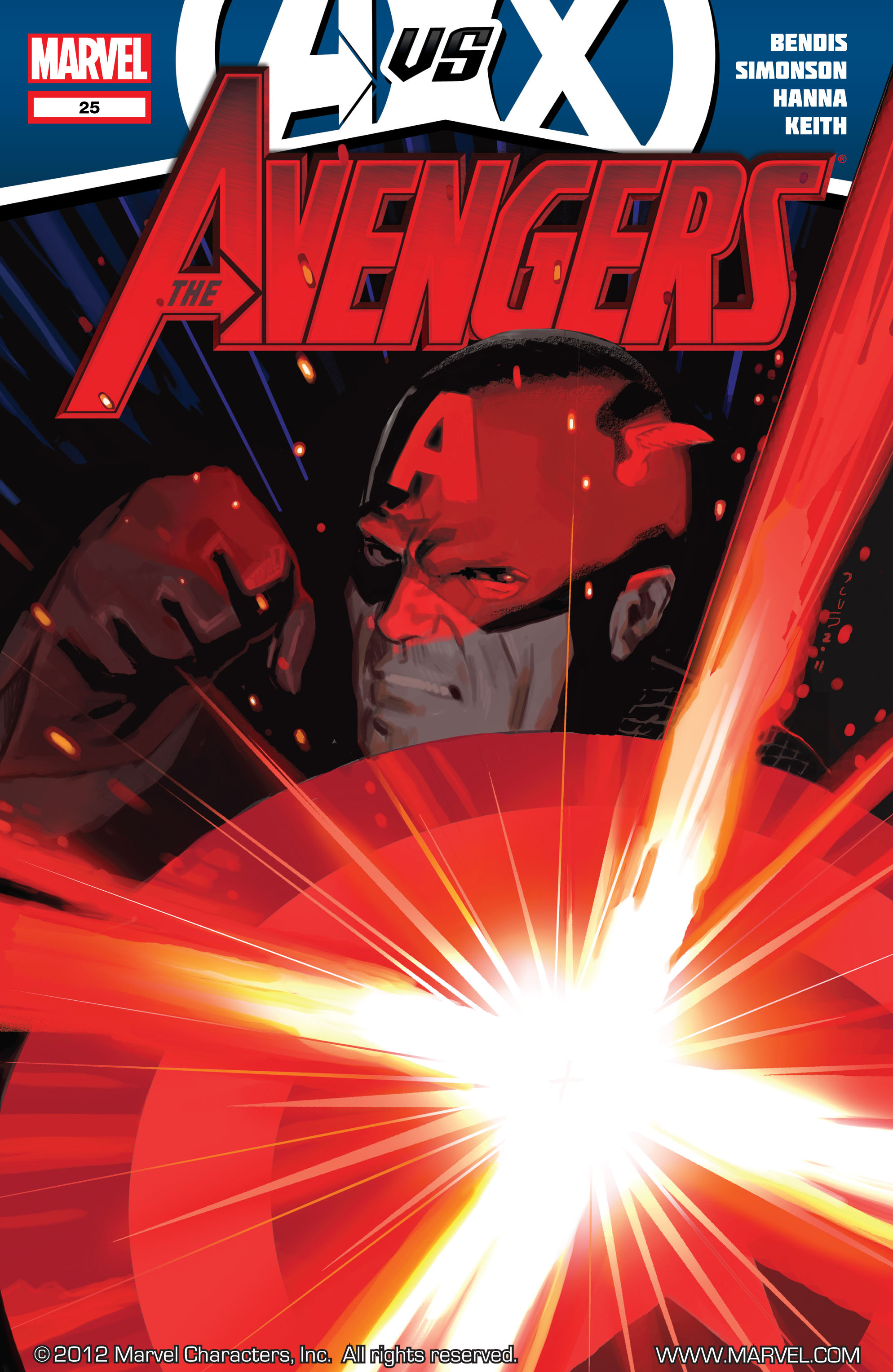 Read online Avengers (2010) comic -  Issue #25 - 1