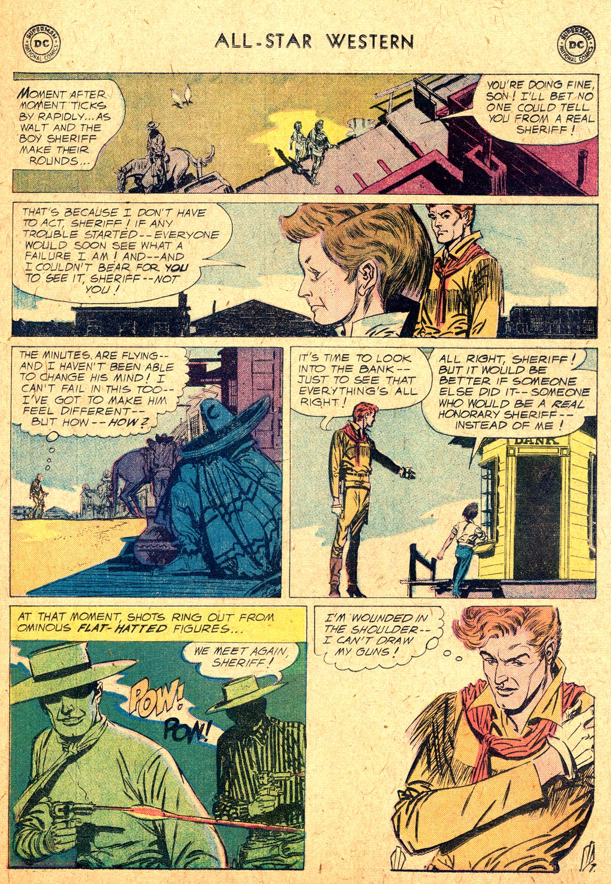 Read online All-Star Western (1951) comic -  Issue #104 - 9