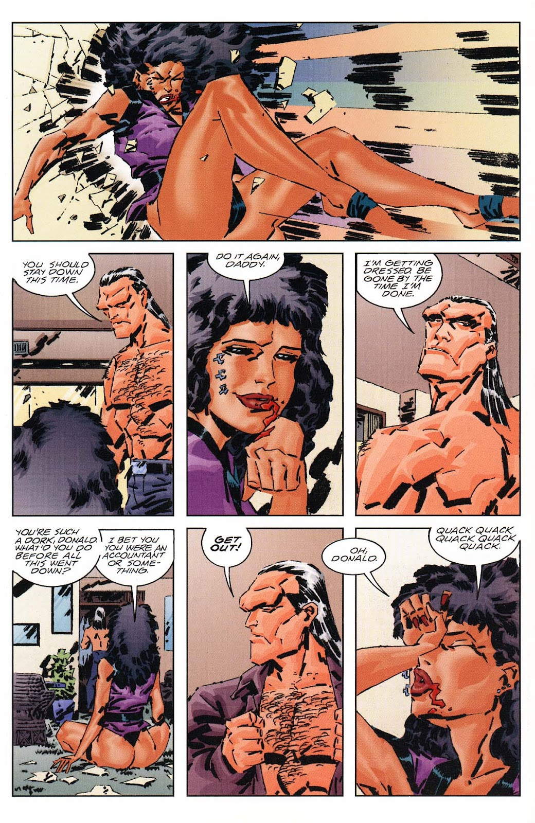 Read online Dominion (2002) comic -  Issue #1 - 12