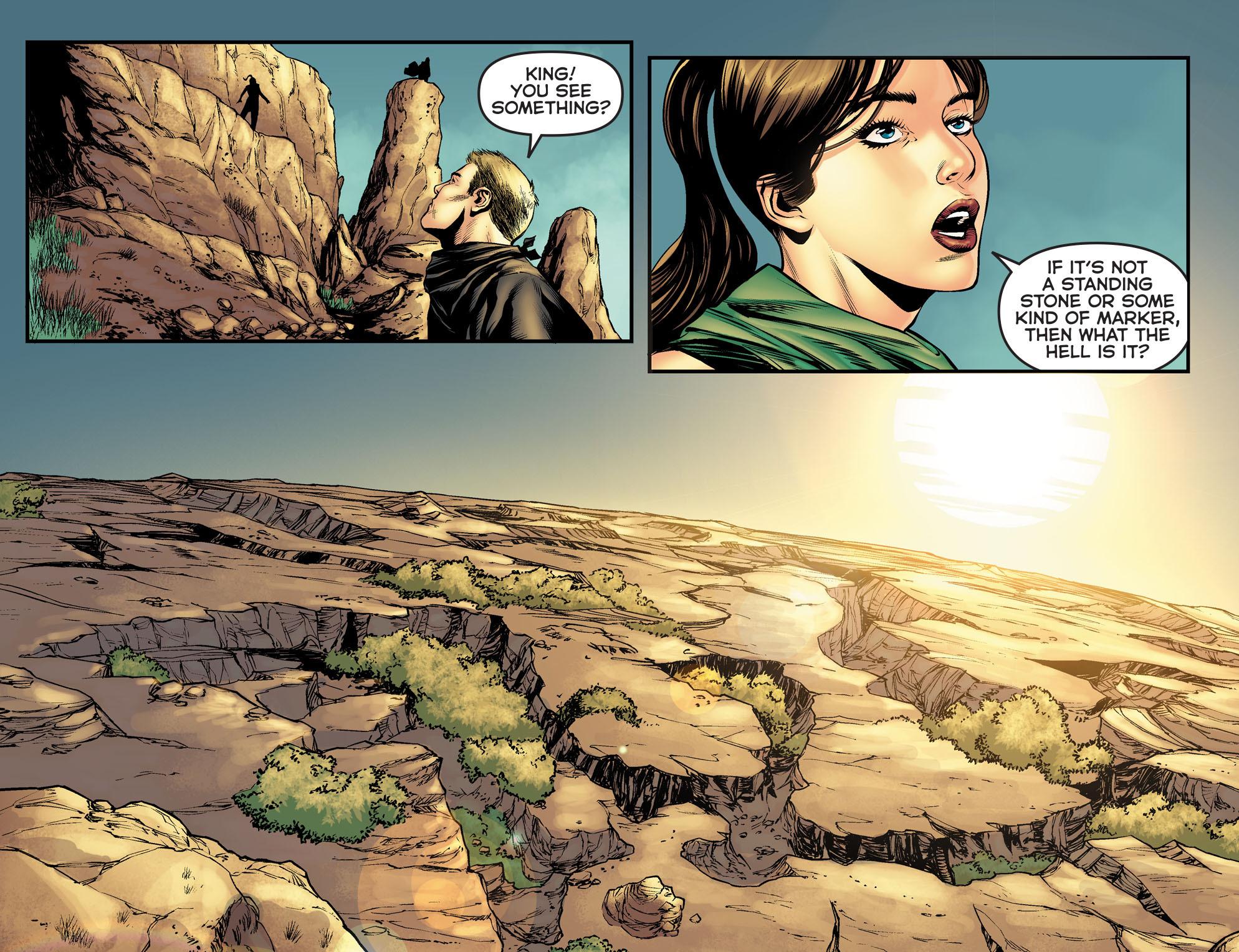 Read online Arrow: The Dark Archer comic -  Issue #5 - 21
