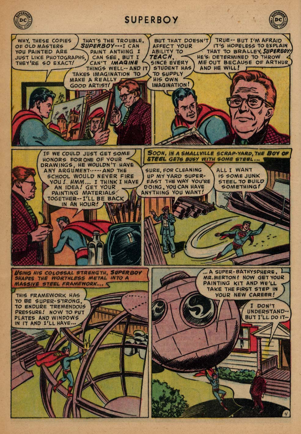 Superboy (1949) issue 25 - Page 5