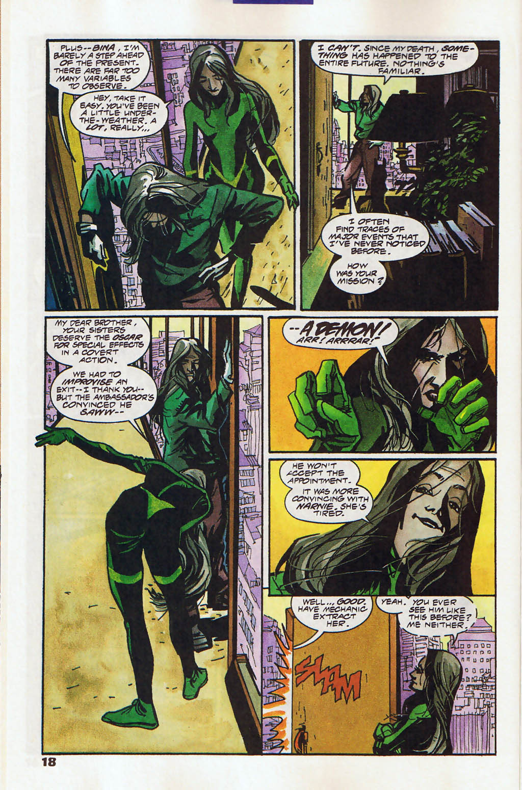 Read online Shadow Cabinet comic -  Issue #11 - 14