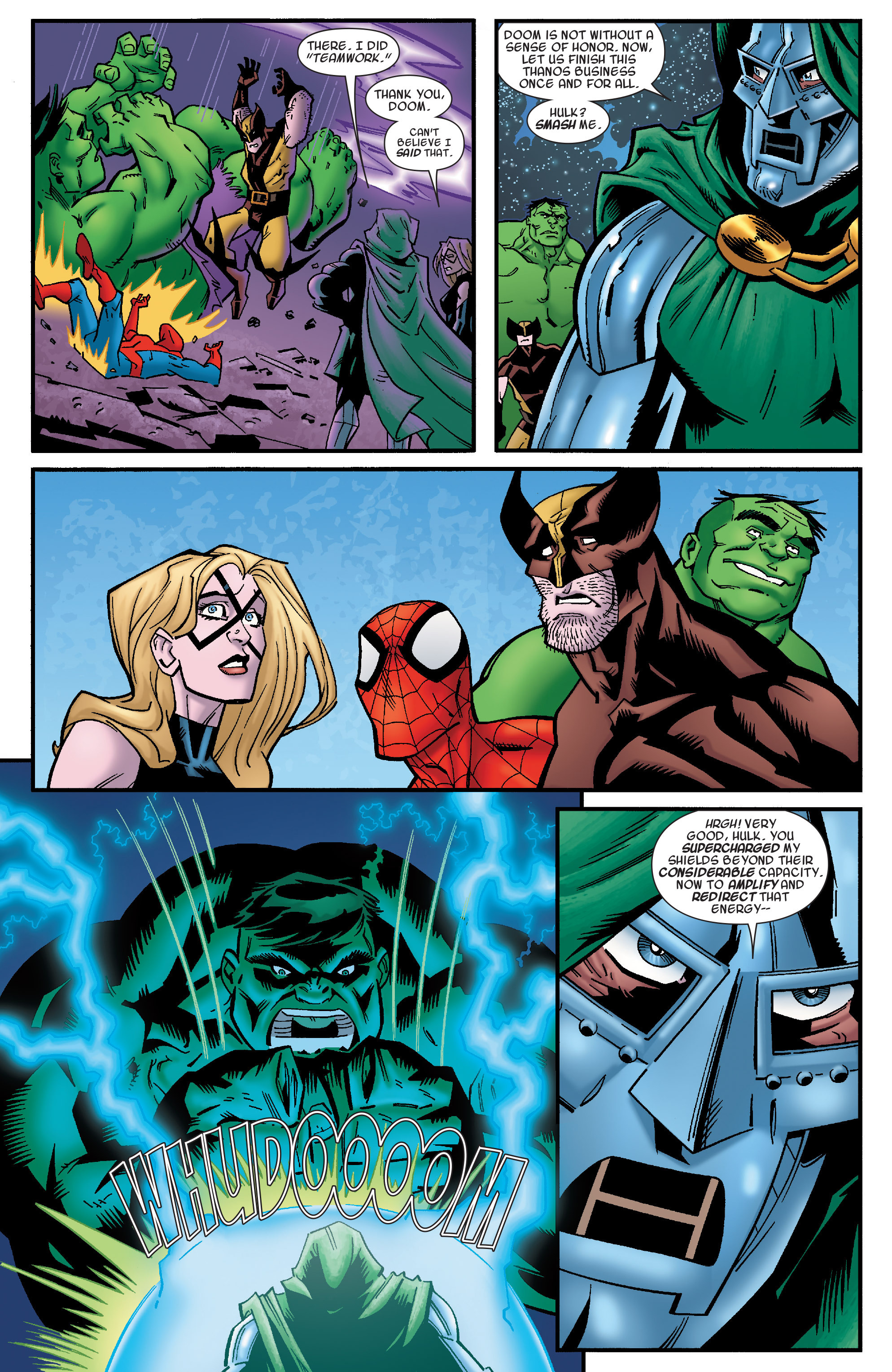 Read online Avengers & the Infinity Gauntlet comic -  Issue #4 - 10
