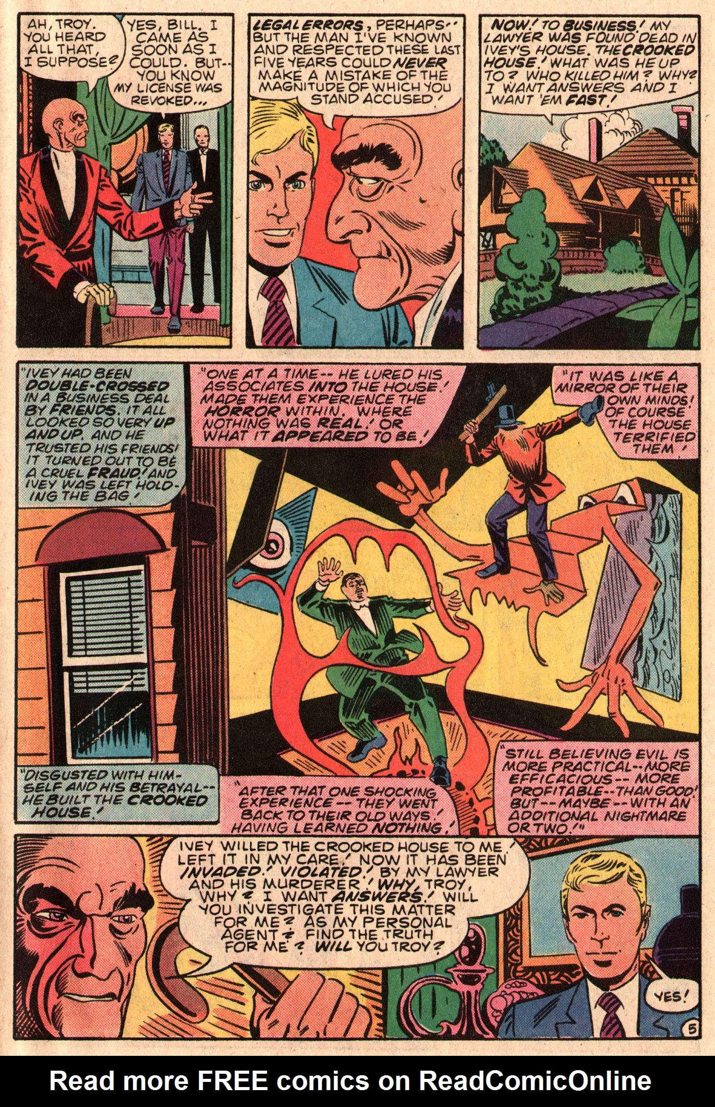 Read online The Fly (1983) comic -  Issue #6 - 7