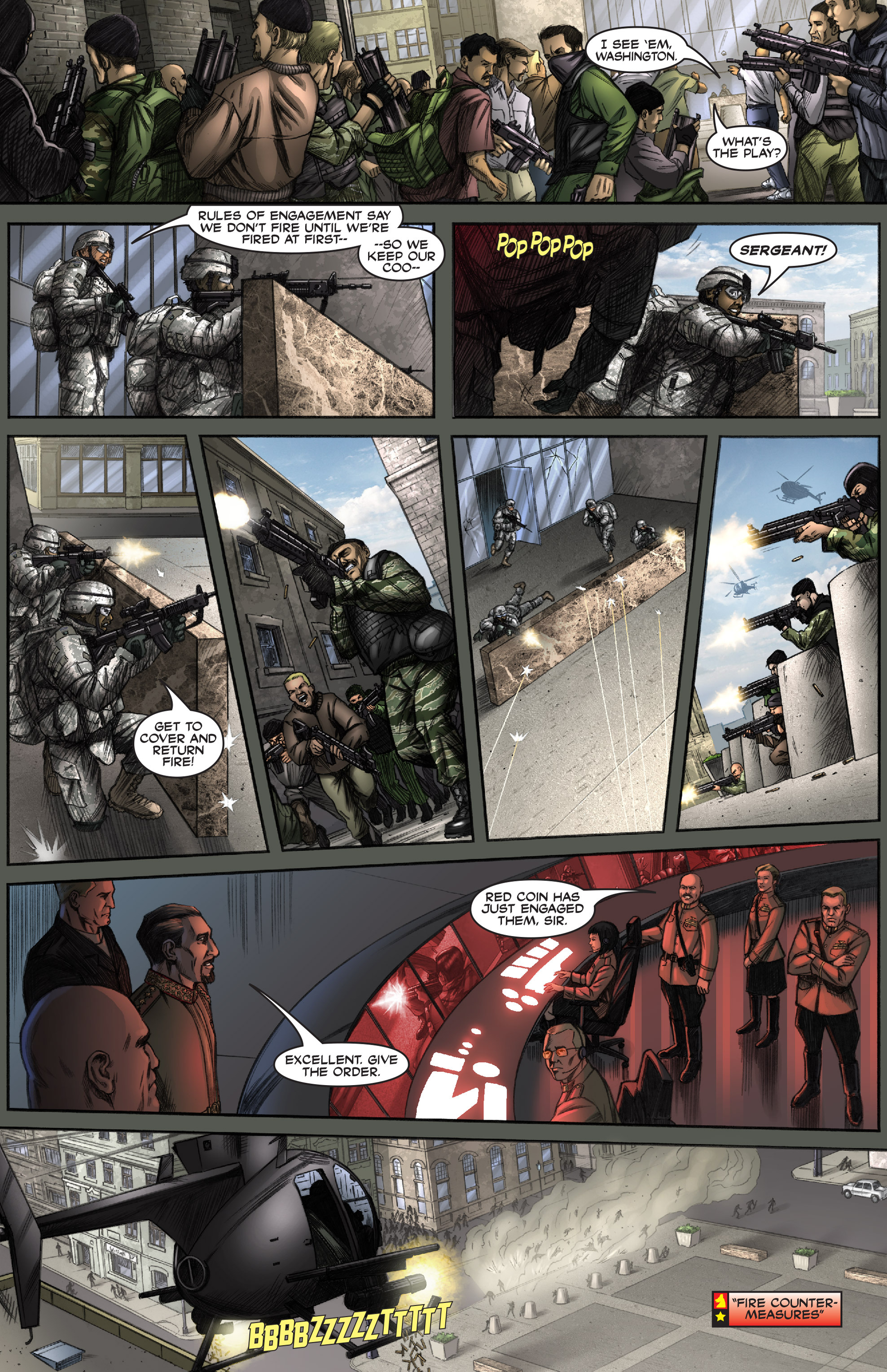 Read online America's Army comic -  Issue #0 - 14