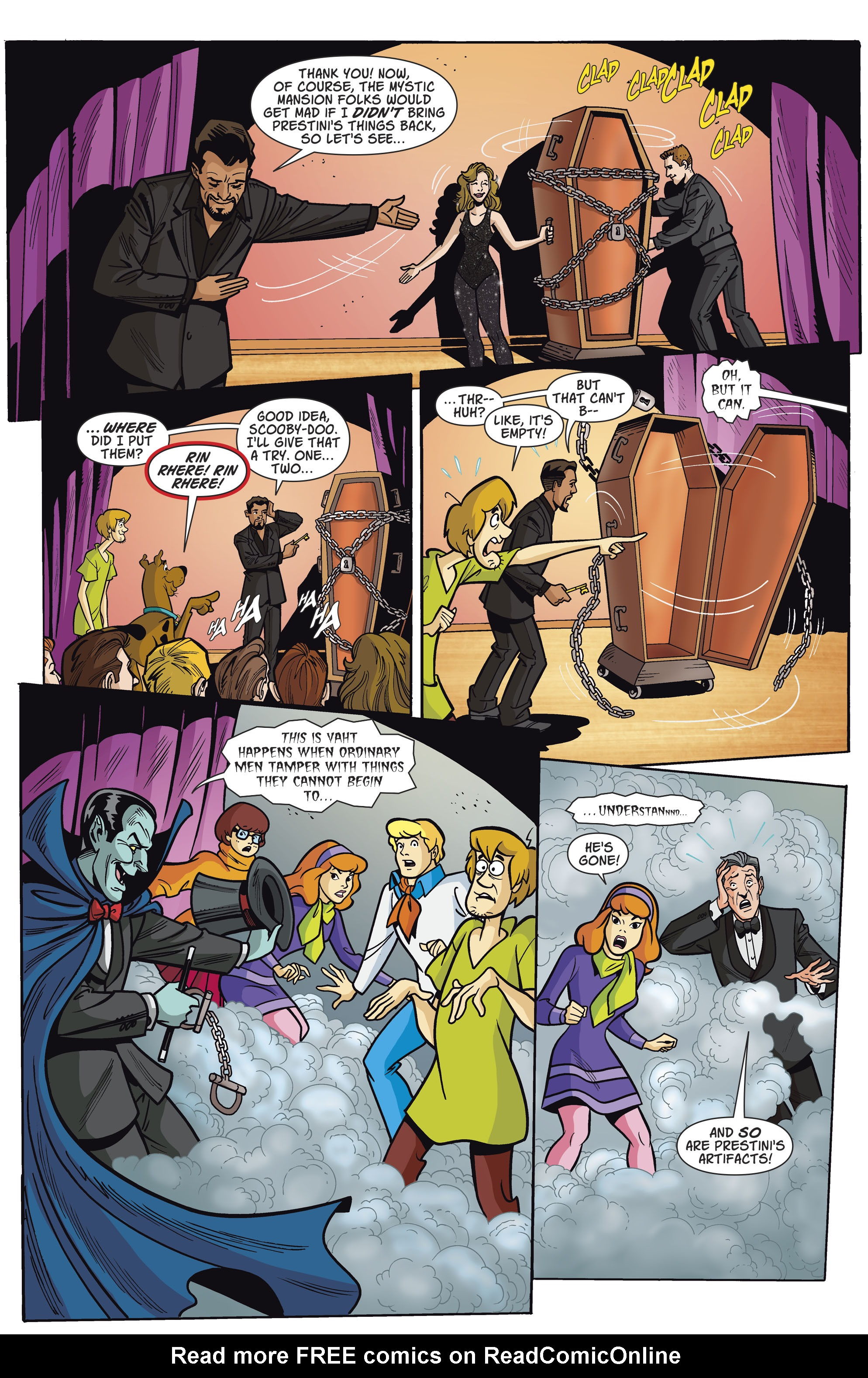 Read online Scooby-Doo: Where Are You? comic -  Issue #79 - 5