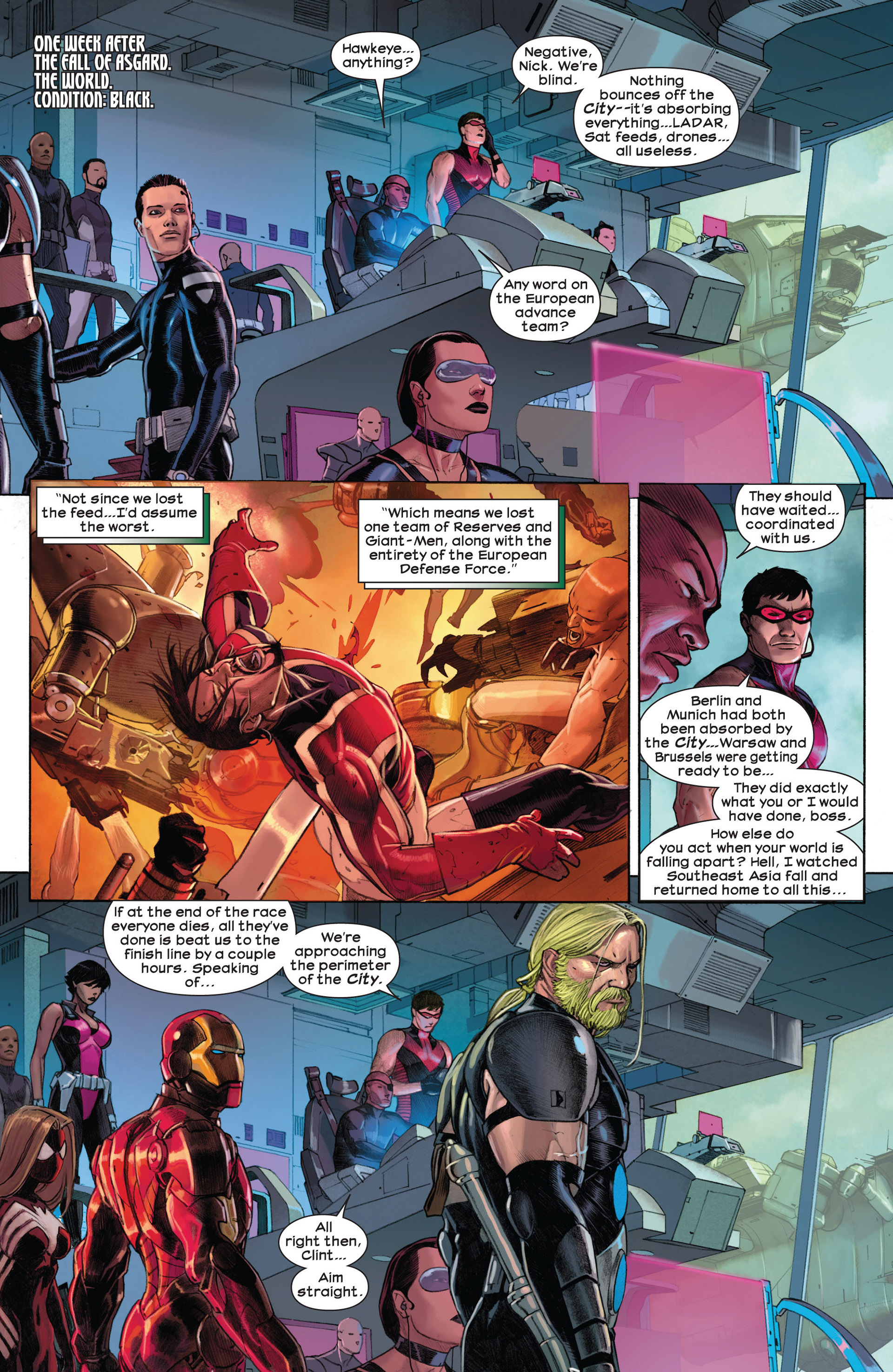 Read online Ultimate Comics Ultimates comic -  Issue #3 - 5
