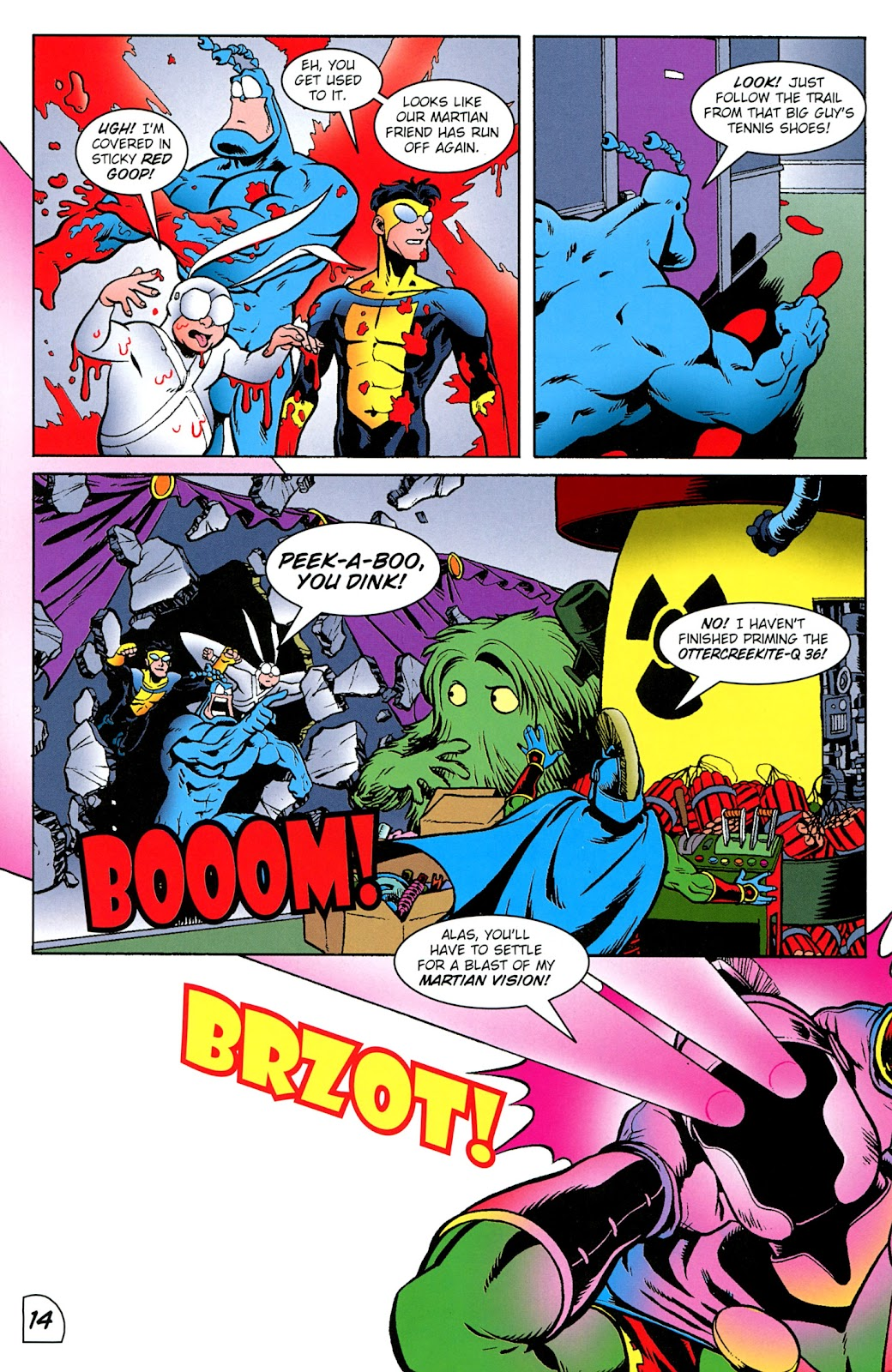 Read online The Tick comic -  Issue #100 - 15